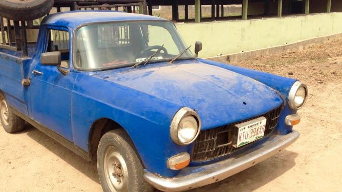 Peugeot 404 Pickup truck, Odoragunshin, Epe, Lagos, Nigeria. #JujuFilms