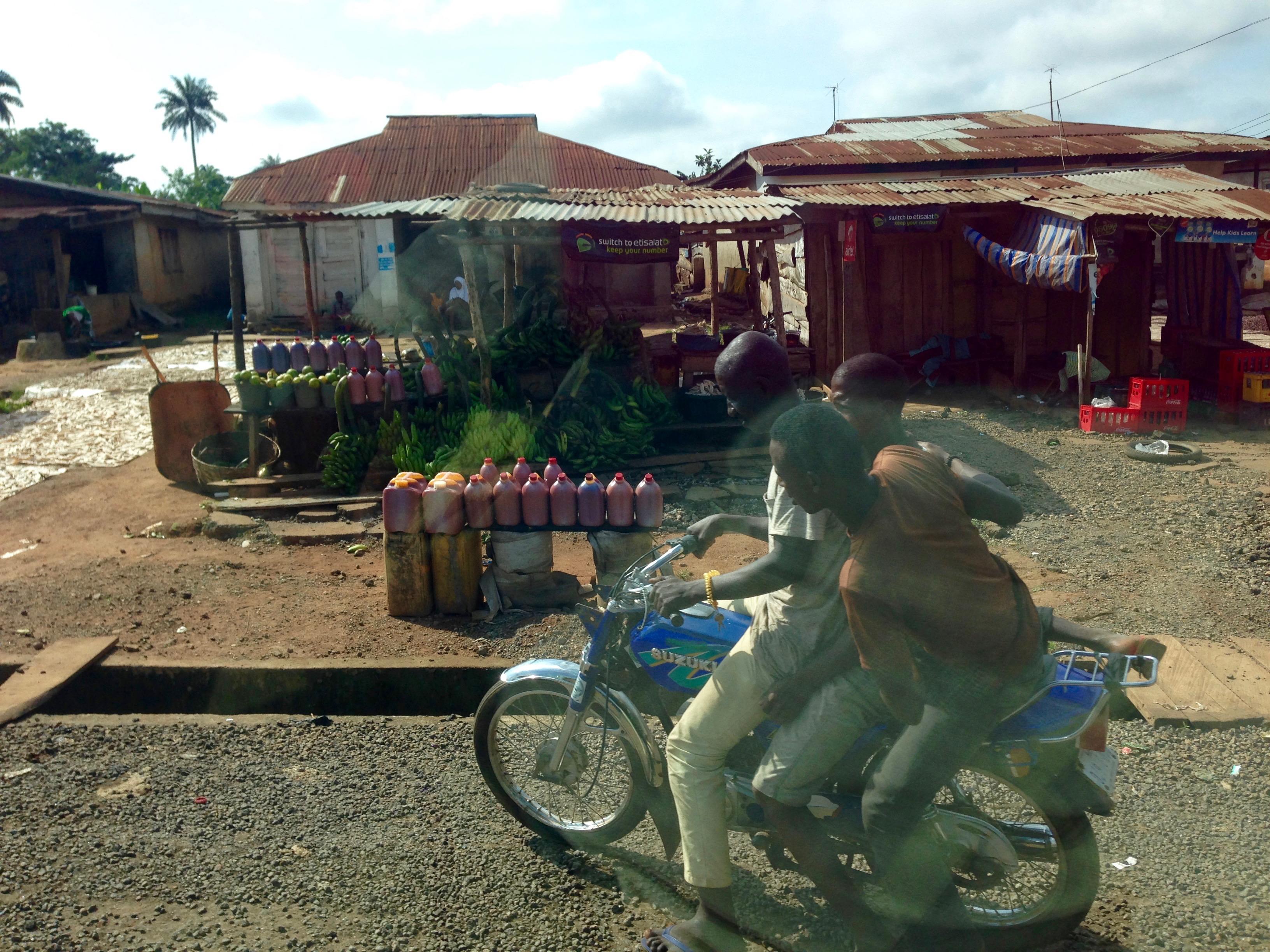 Motorcycling in Igbara Oke, Ondo, Nigeria. #JujuFilms