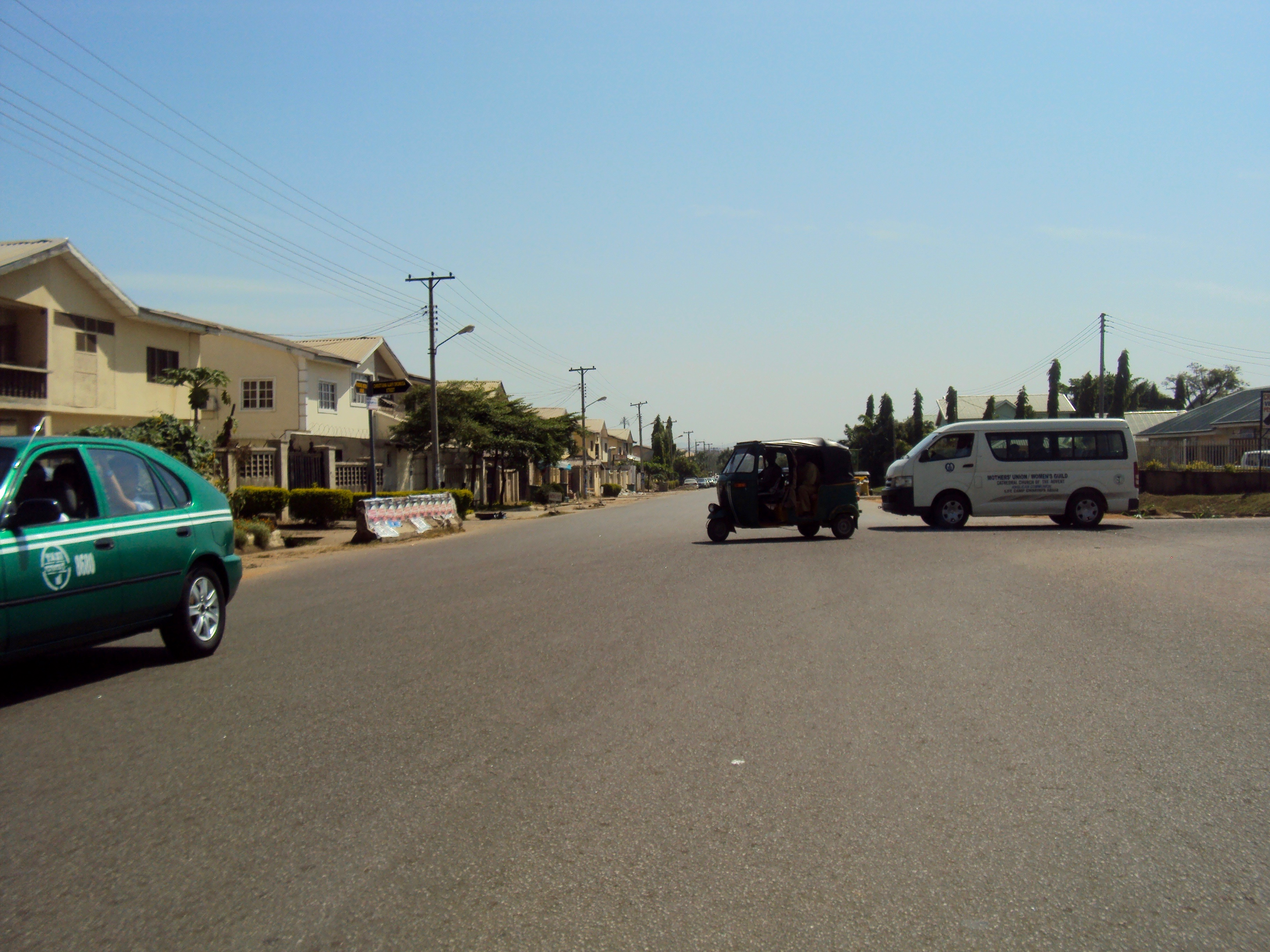 Street scene in Gwarinpa, FCT, Abuja, Nigeria. #JujuFilms