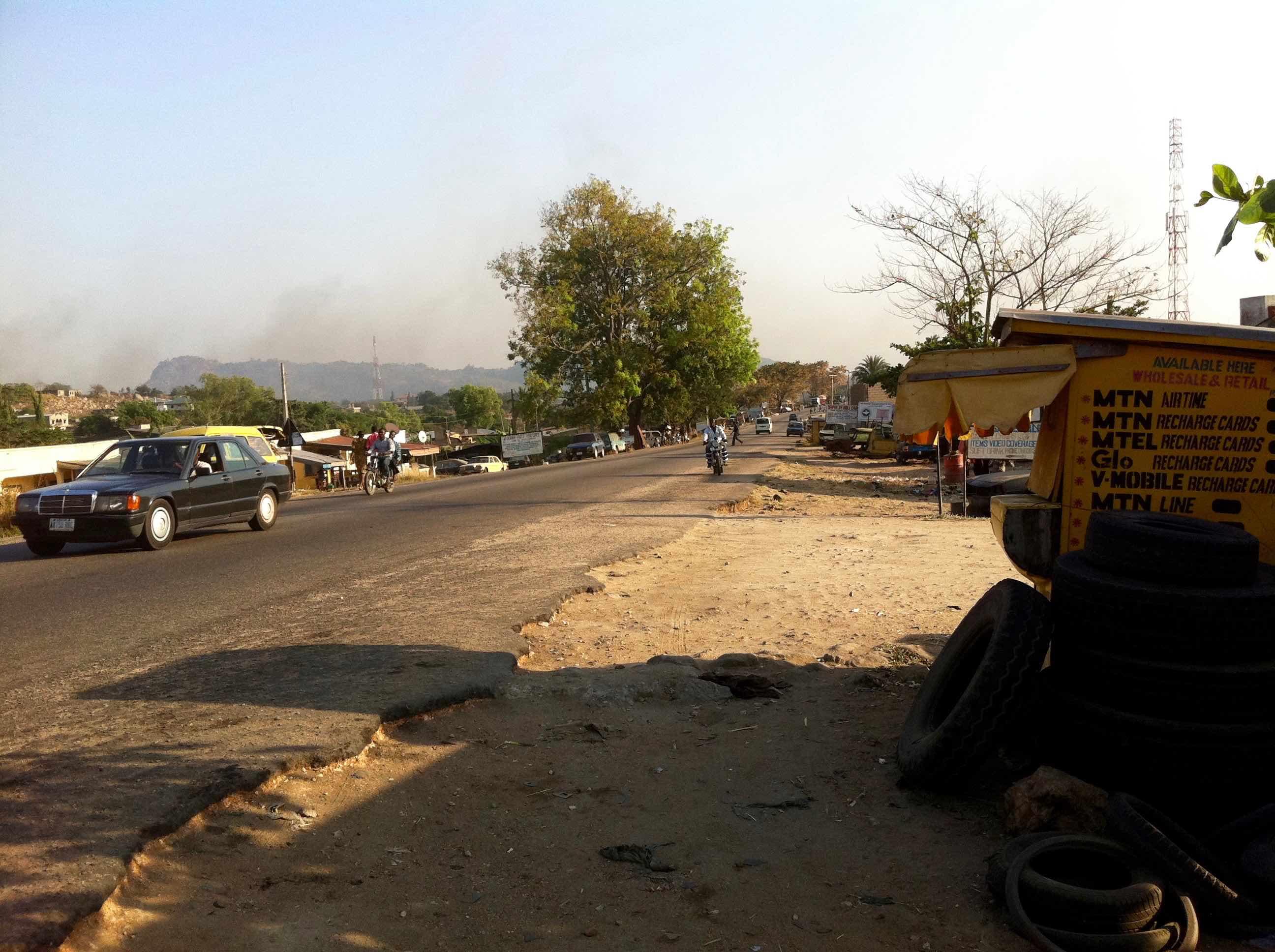 Street Scene in Okene, Kogi, Nigeria. #JujuFilms