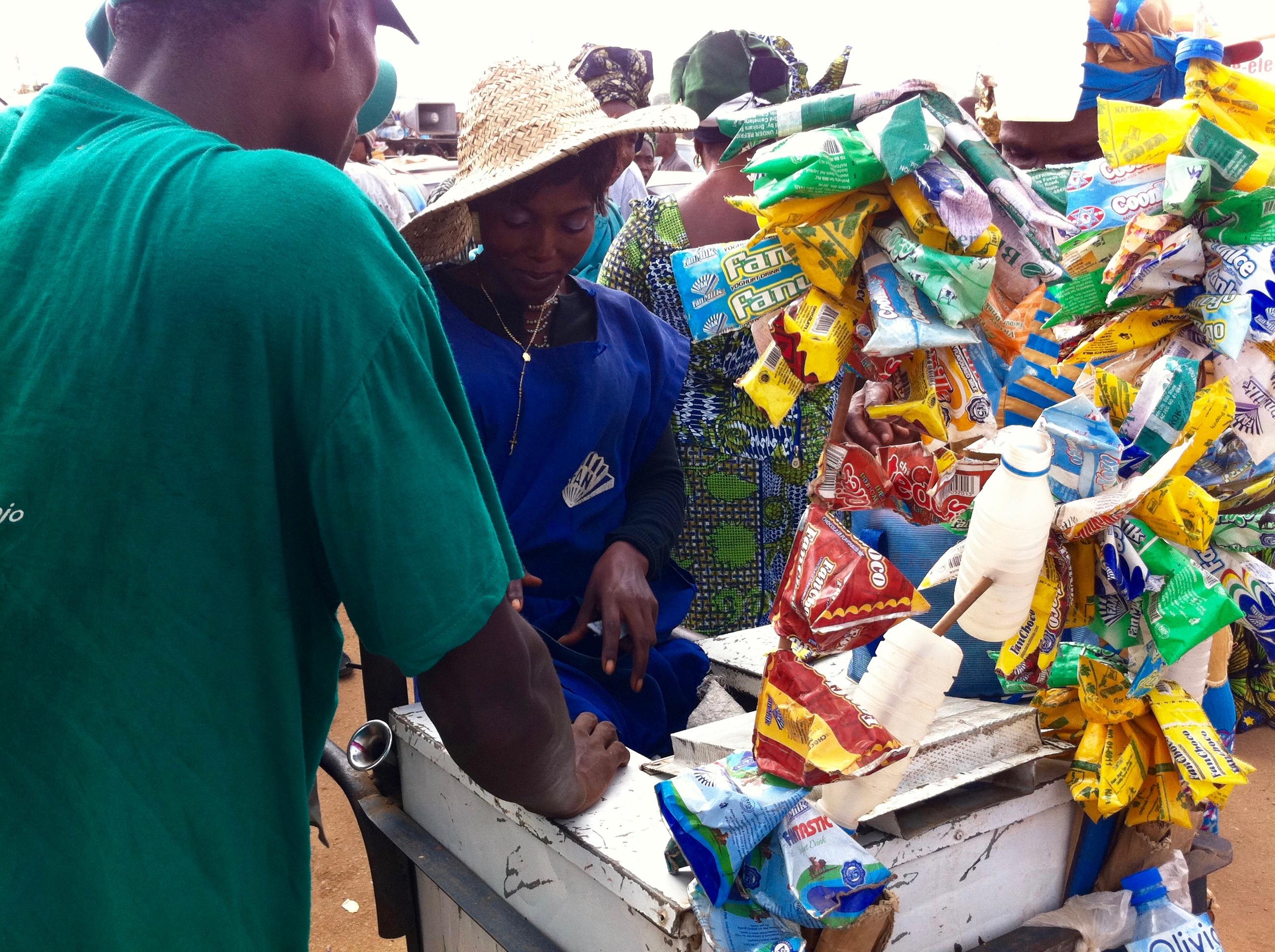 Fan Ice Lady, Samuel Ogbemudia Stadium, Benin City, Edo, Nigeria. #JujuFilms