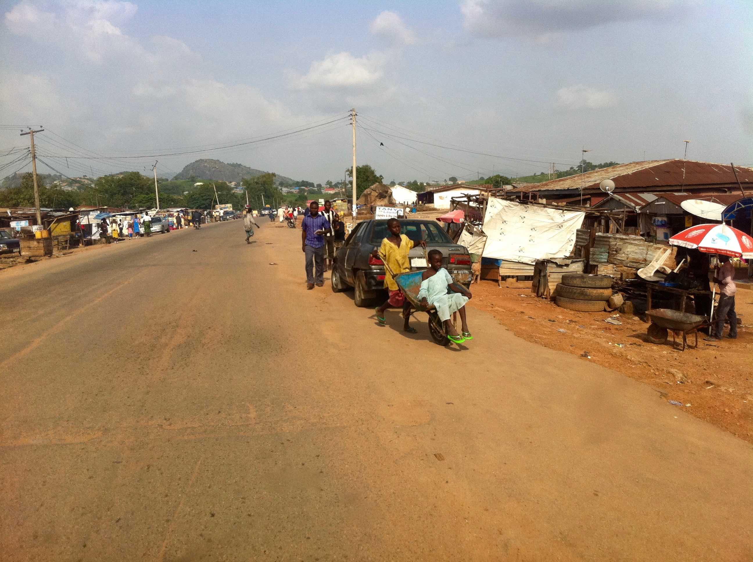 Street scene in Suleja, Niger, Nigeria. #JujuFilms