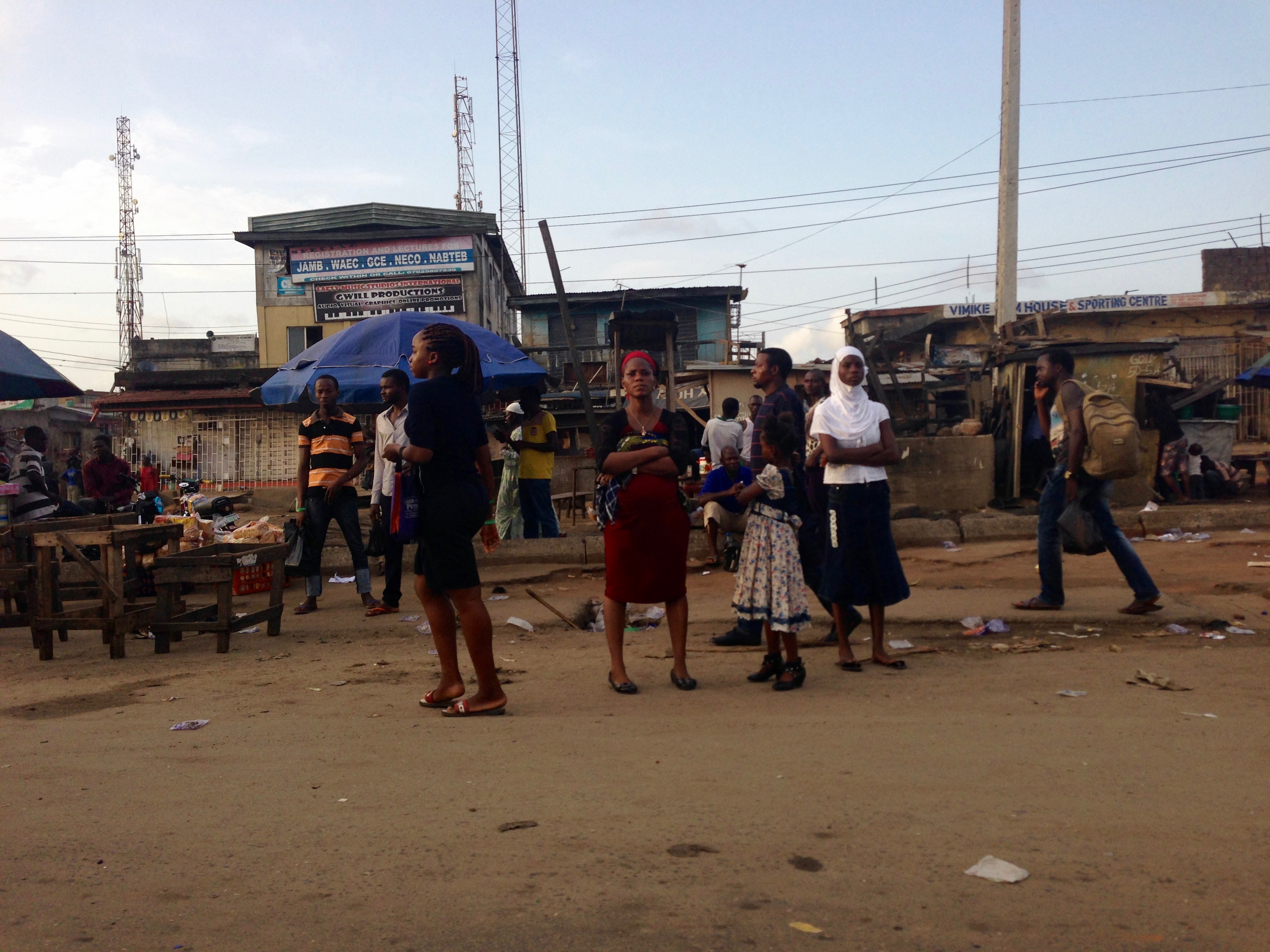 Street scene in Lagos, Nigeria. #JujuFilms