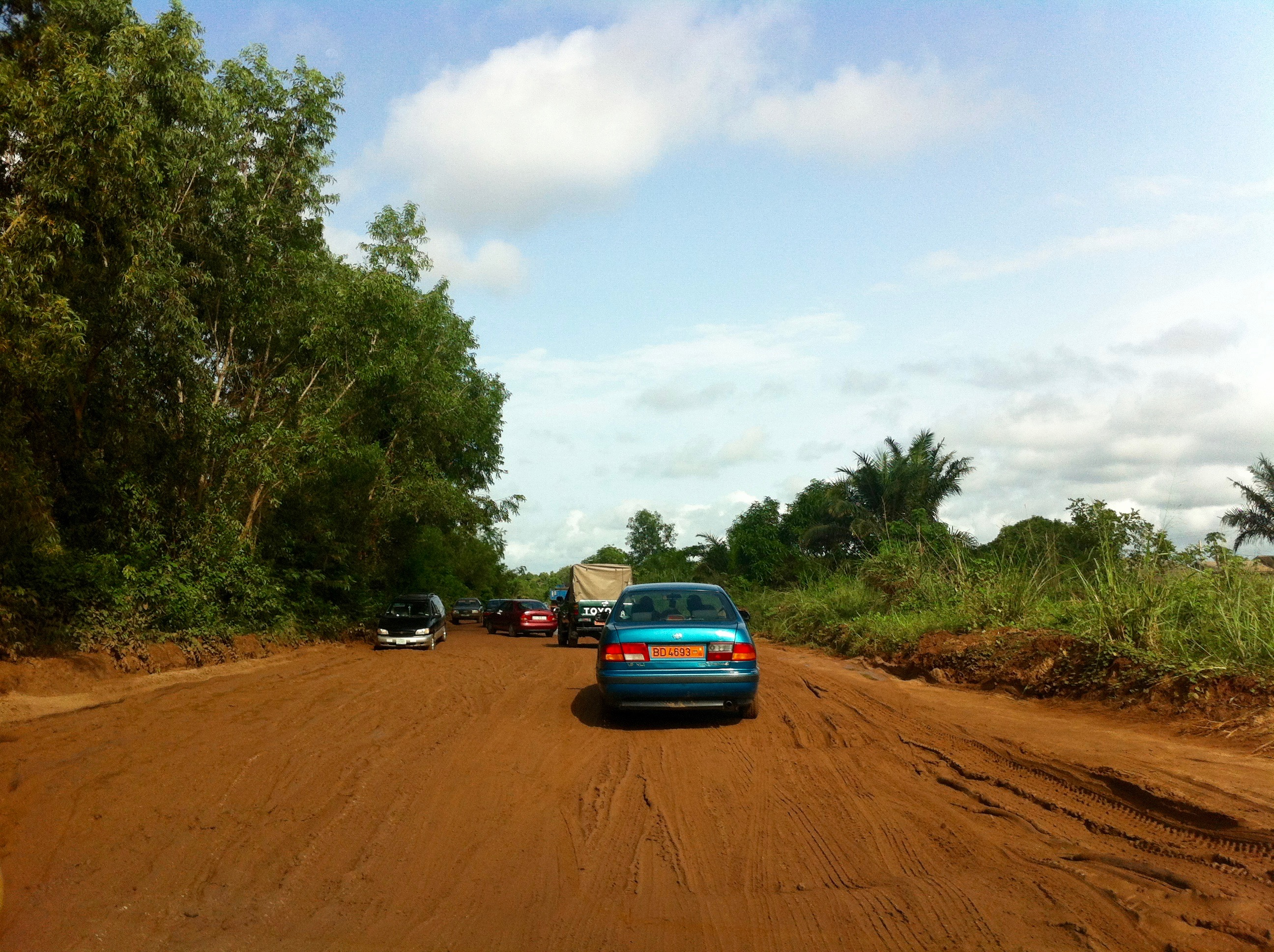 Benin/Togo Road, Pahou, Atlantique Department, Benin. #JujuFilms