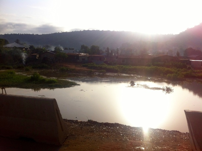 Sunrise on a pond, Koton Karifi Village, Kogi, Nigeria. #JujuFilms