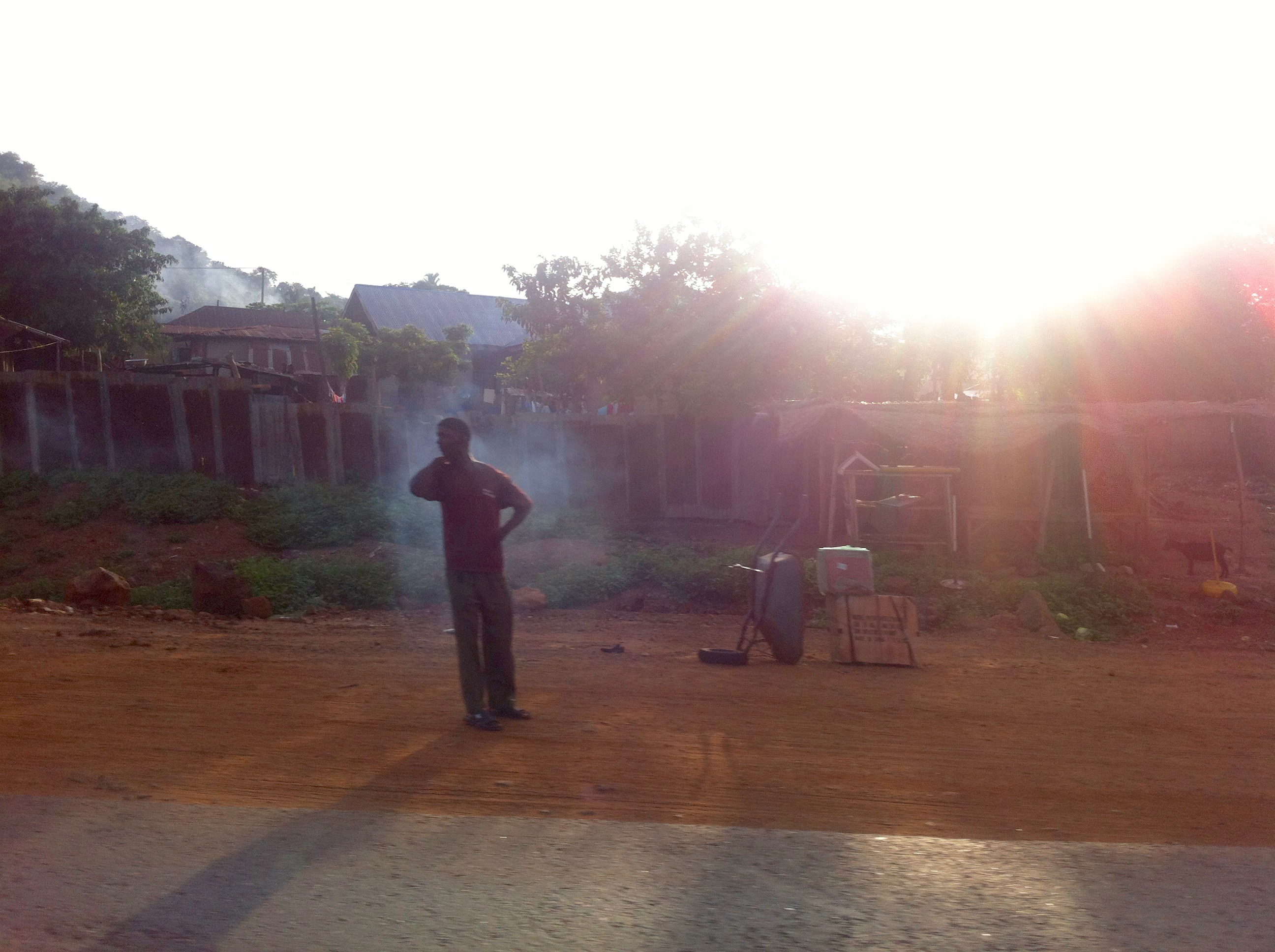 Sunrise in Koton Karifi, Kogi, Nigeria. #JujuFilms
