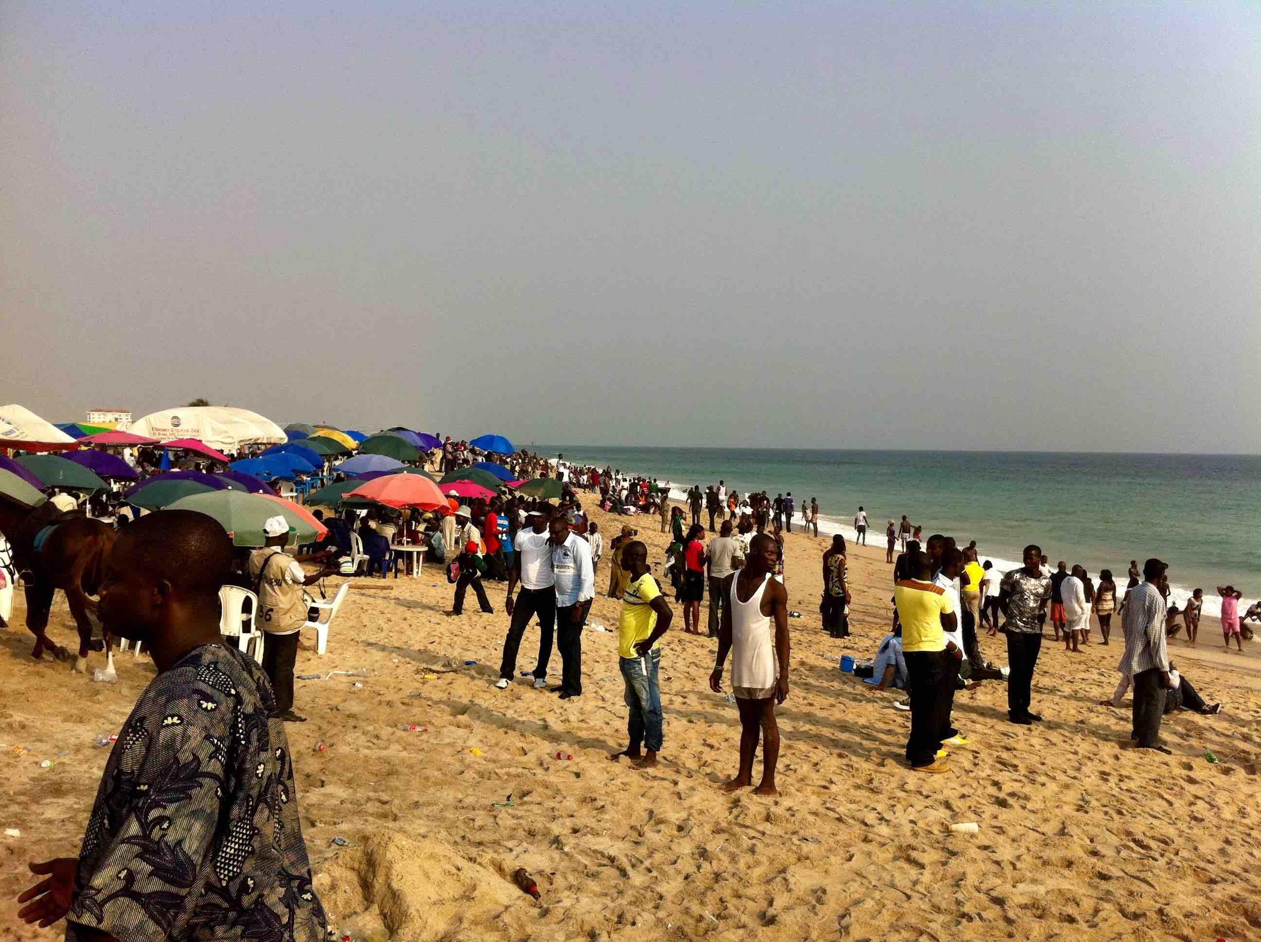 Kuramo Beach, Victoria Island, Lagos, Nigeria. #JujuFilms