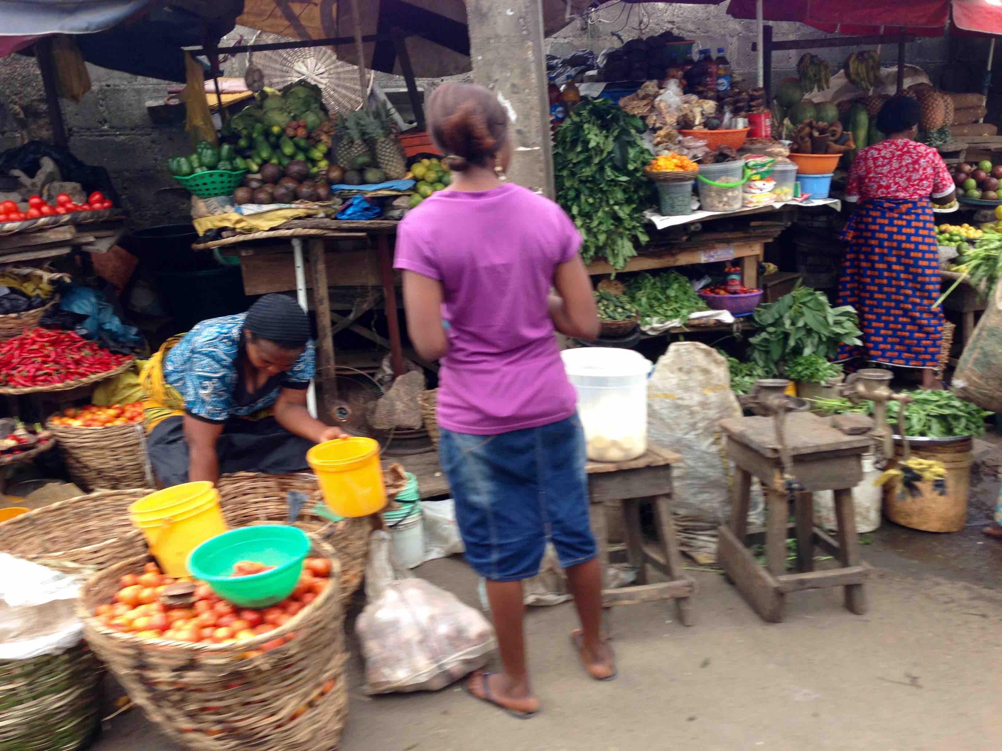 Produce market in Lagos, Nigeria. #JujuFilms