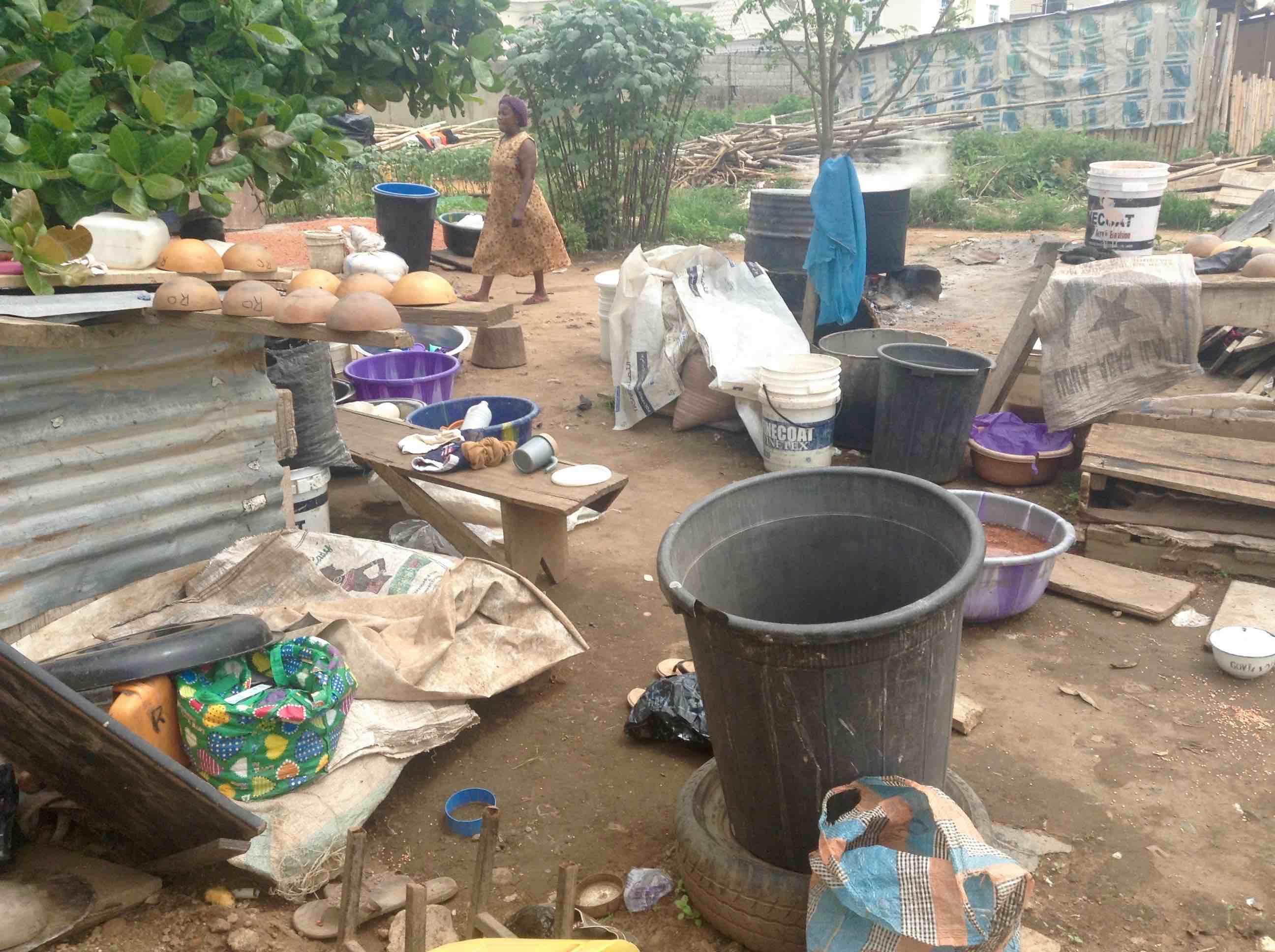 Buka kitchen, Ushafa Village, FCT, Abuja, Nigeria. #JujuFilms