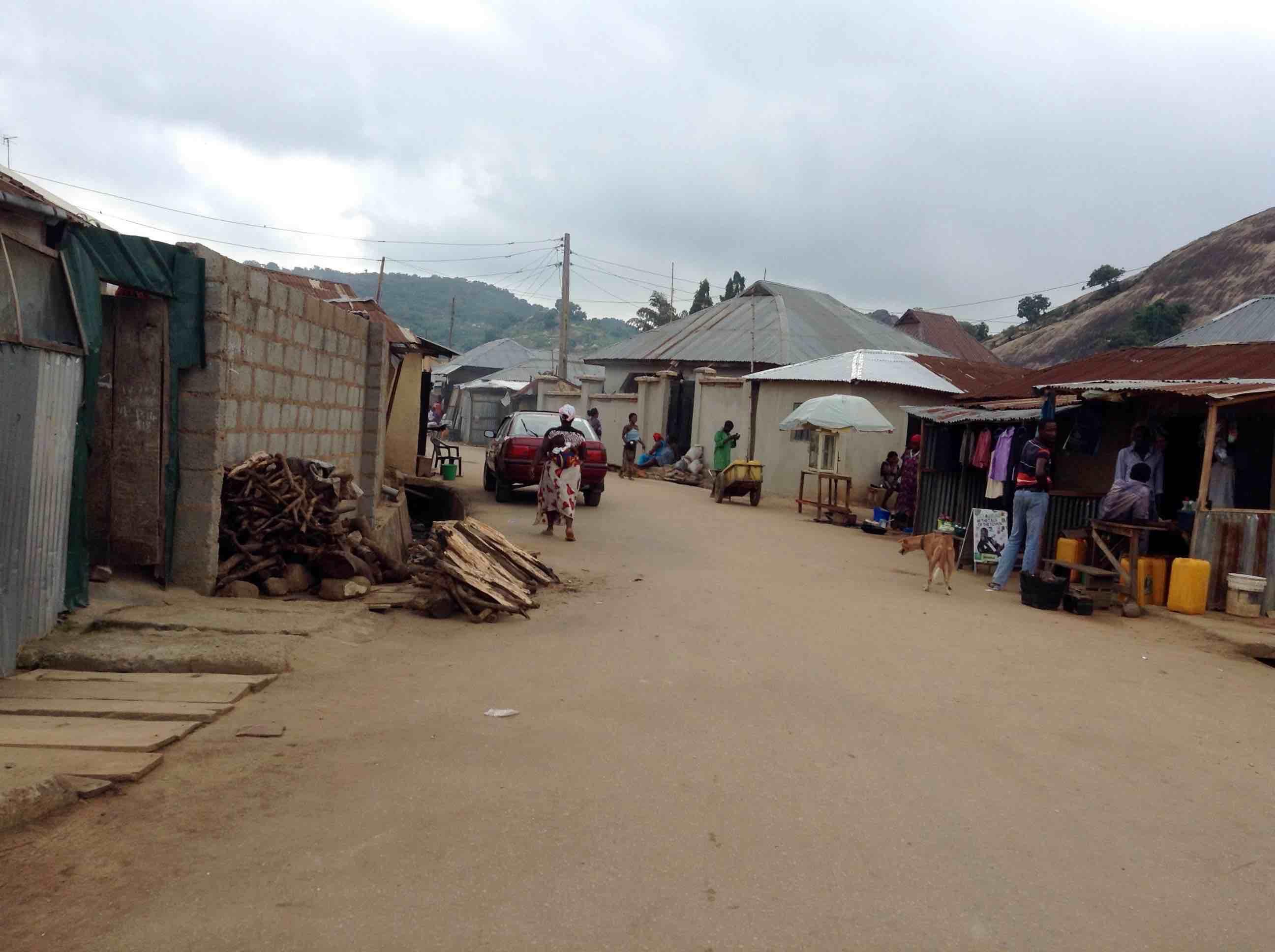 Street scene, Ushafa Village, FCT, Abuja, Nigeria. #JujuFilms