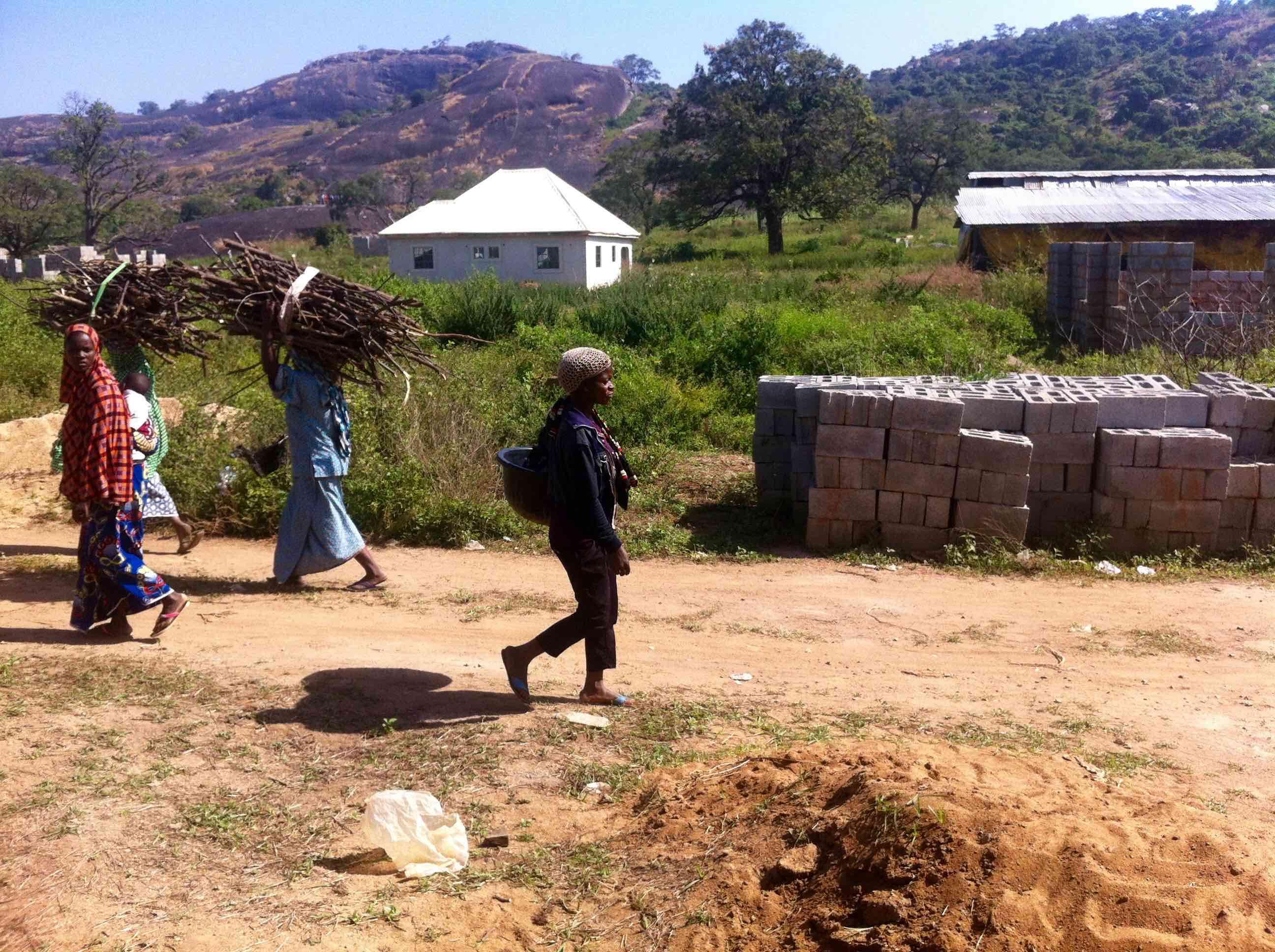 Fulani women fetching firewood in Ushafa Village, FCT, Abuja, Nigeria. #JujuFilms