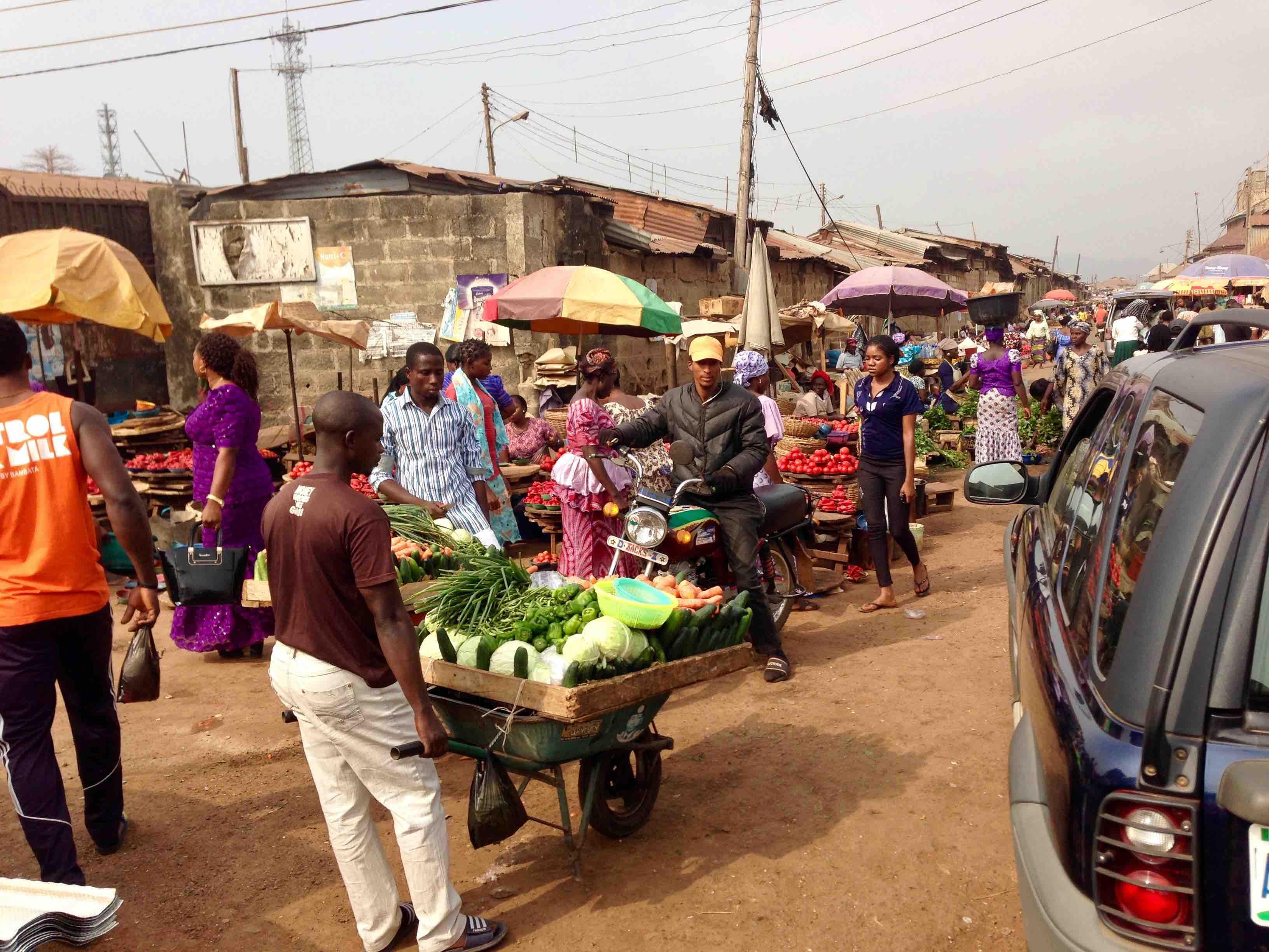 Atakumosa Market, Ilesa, Osun, Nigeria. #JujuFilms