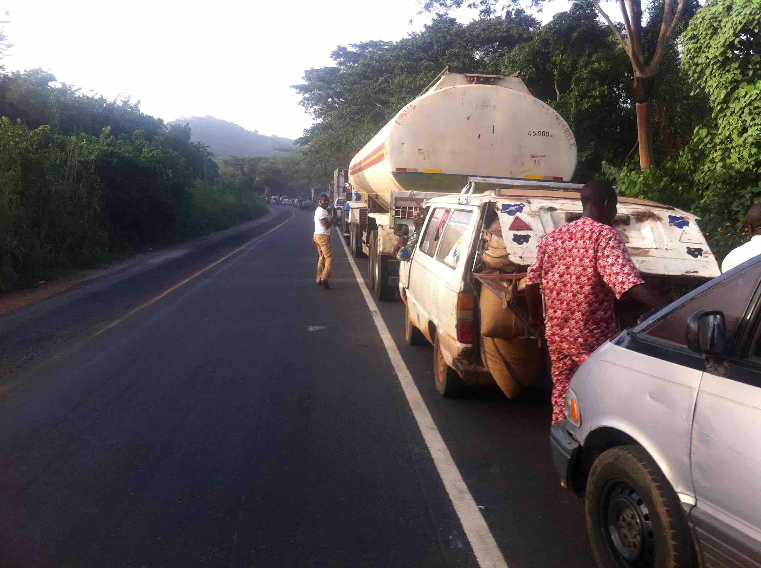 Igbara Oke - Ilesa Highway, Osun, Nigeria. #JujuFilms