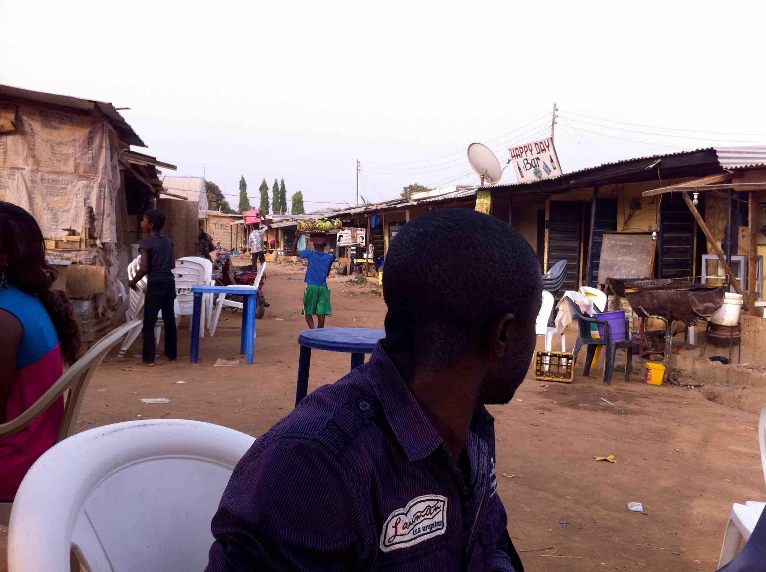 Boy street hawking bananas in Mpape, FCT, Abuja, Nigeria. #JujuFilms
