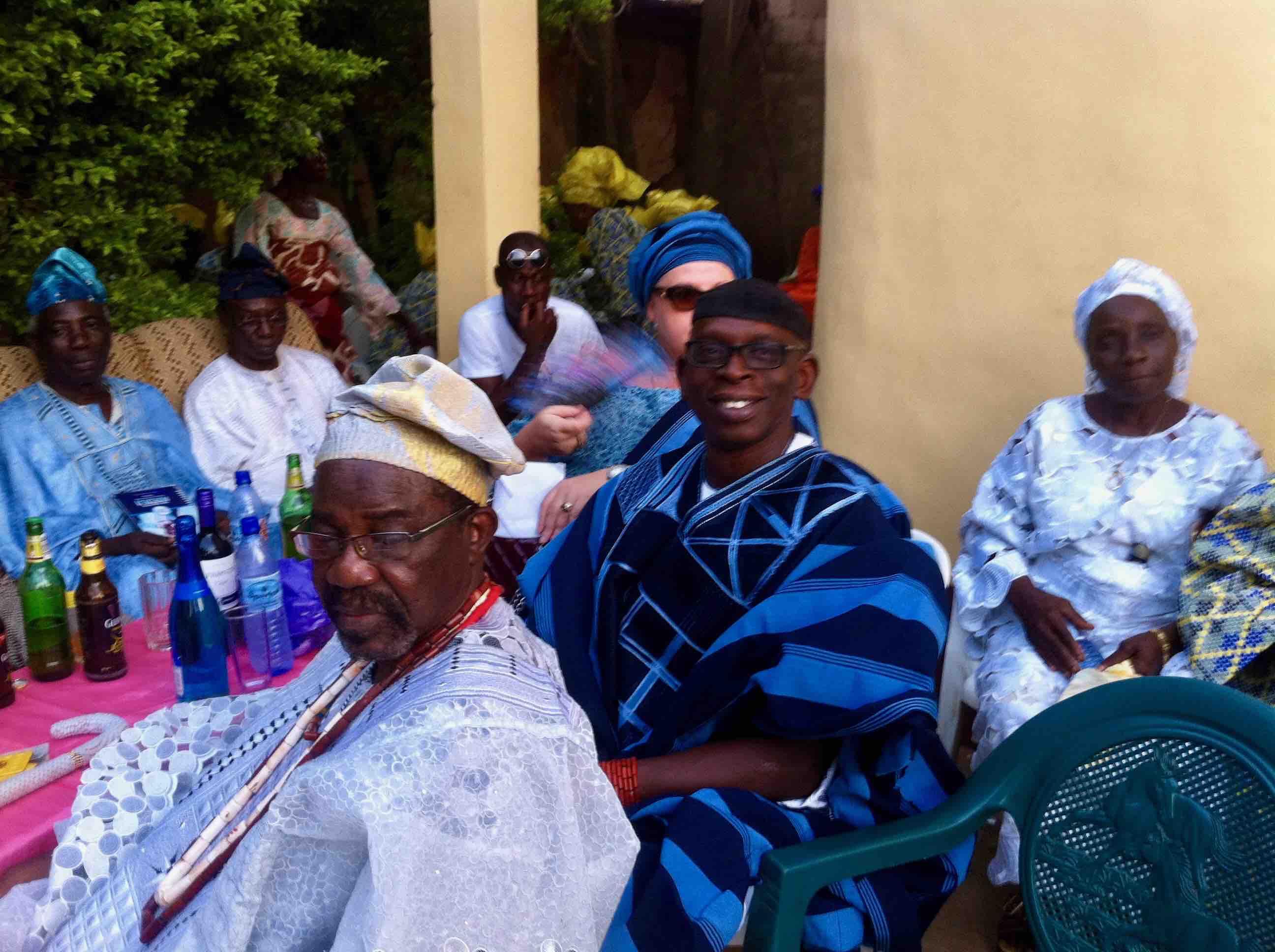 Risawe of Ijesha land, Chief Adefioye Adedeji & Prince Adeleke Oyinlola, Ilesa, Osun, Nigeria. #JujuFilms