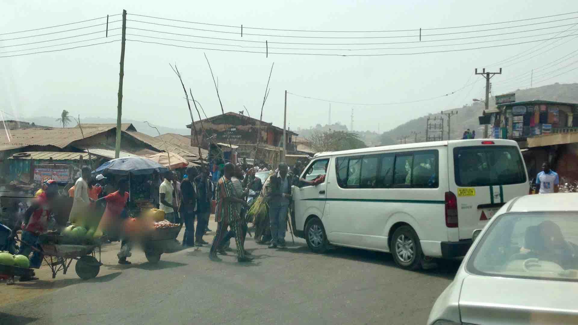 Masquerade in Okene, Kogi, Nigeria. #JujuFilms