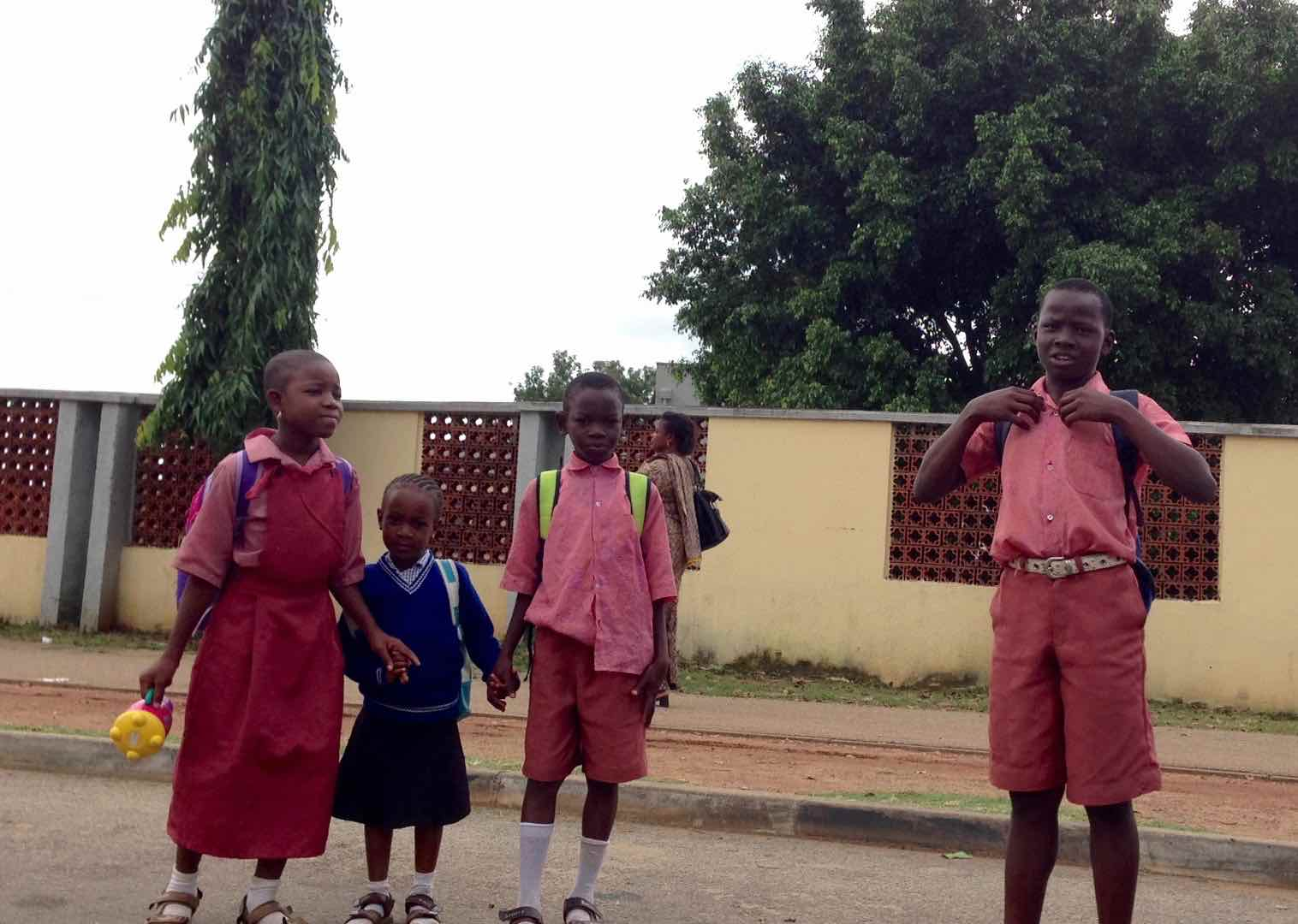 School children in Garki, FCT, Abuja, Nigeria. #JujuFilms