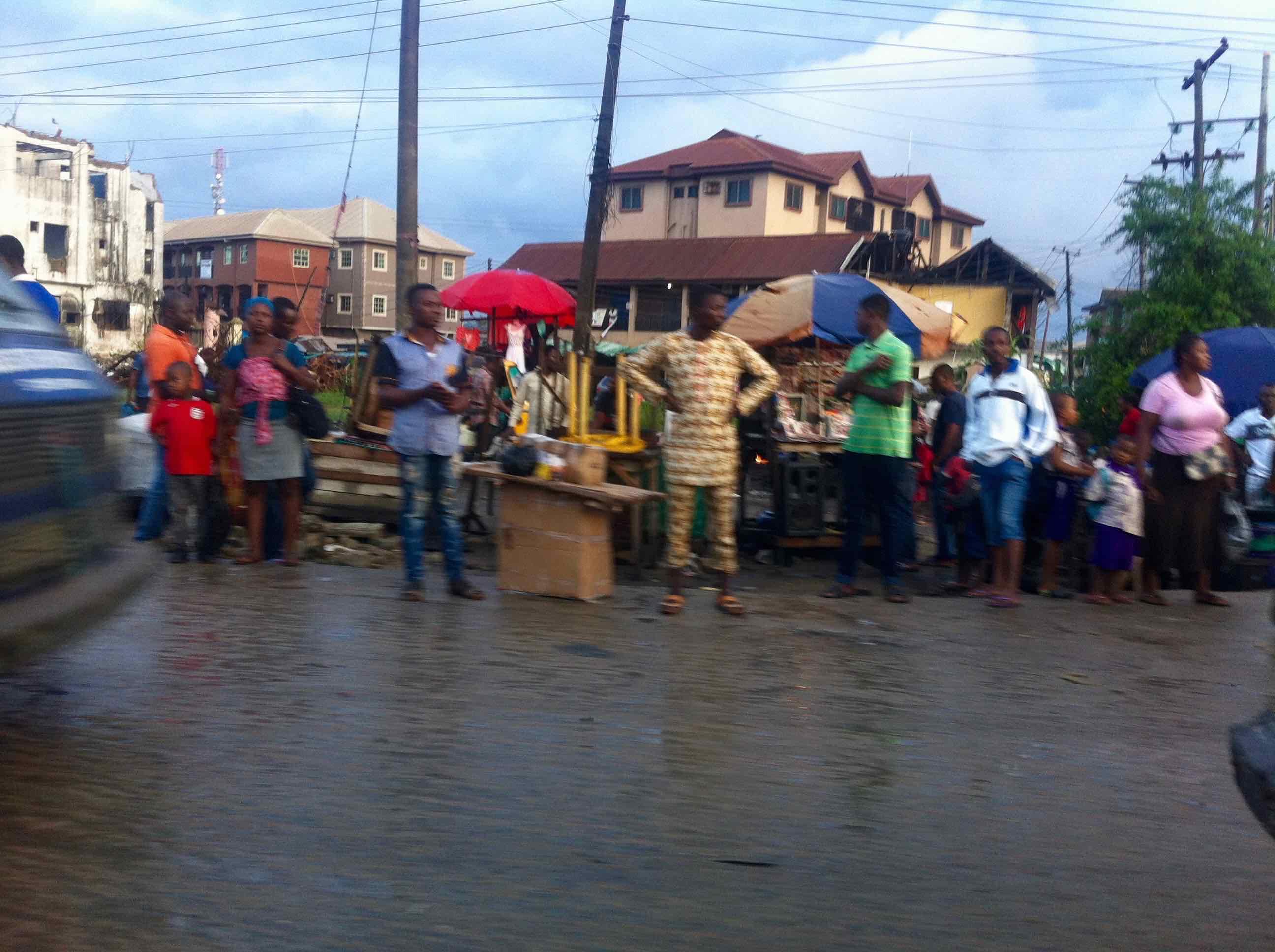 Street Scene, Lagos, Nigeria. #JujuFilms