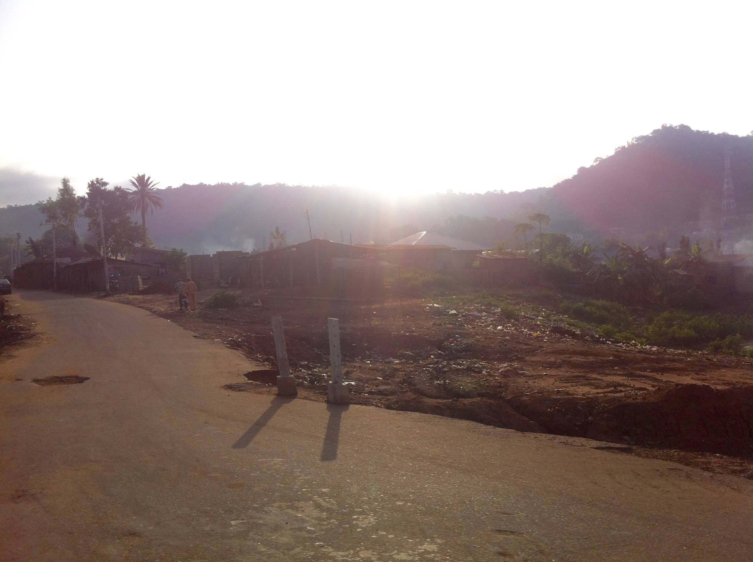 Sunrise in Koton-Karifi, Kogi, Nigeria. #JujuFilms