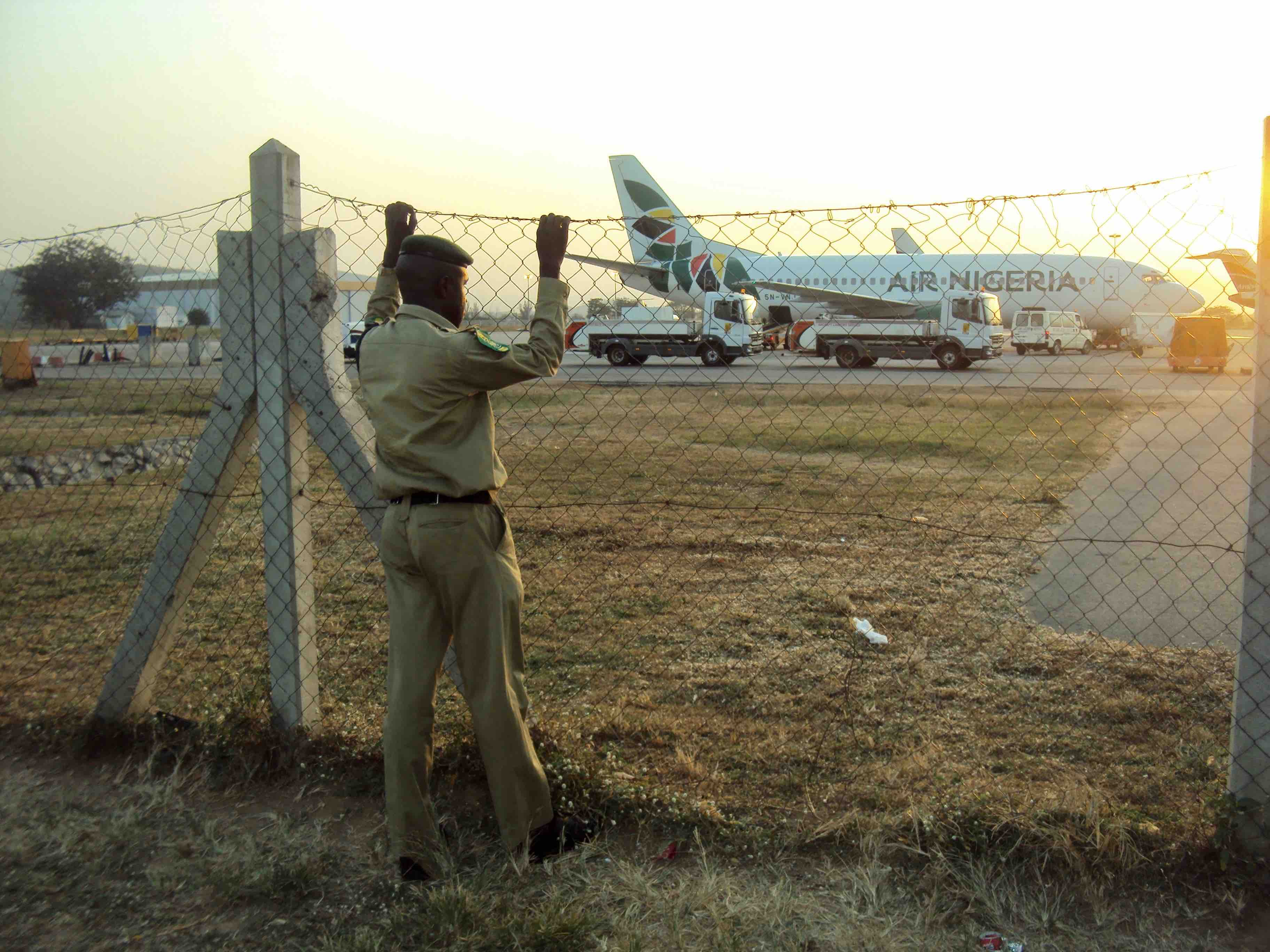 Air Nigeria, Nnamdi Azikiwe International Airport, FCT, Abuja, Nigeria. #JujuFilms