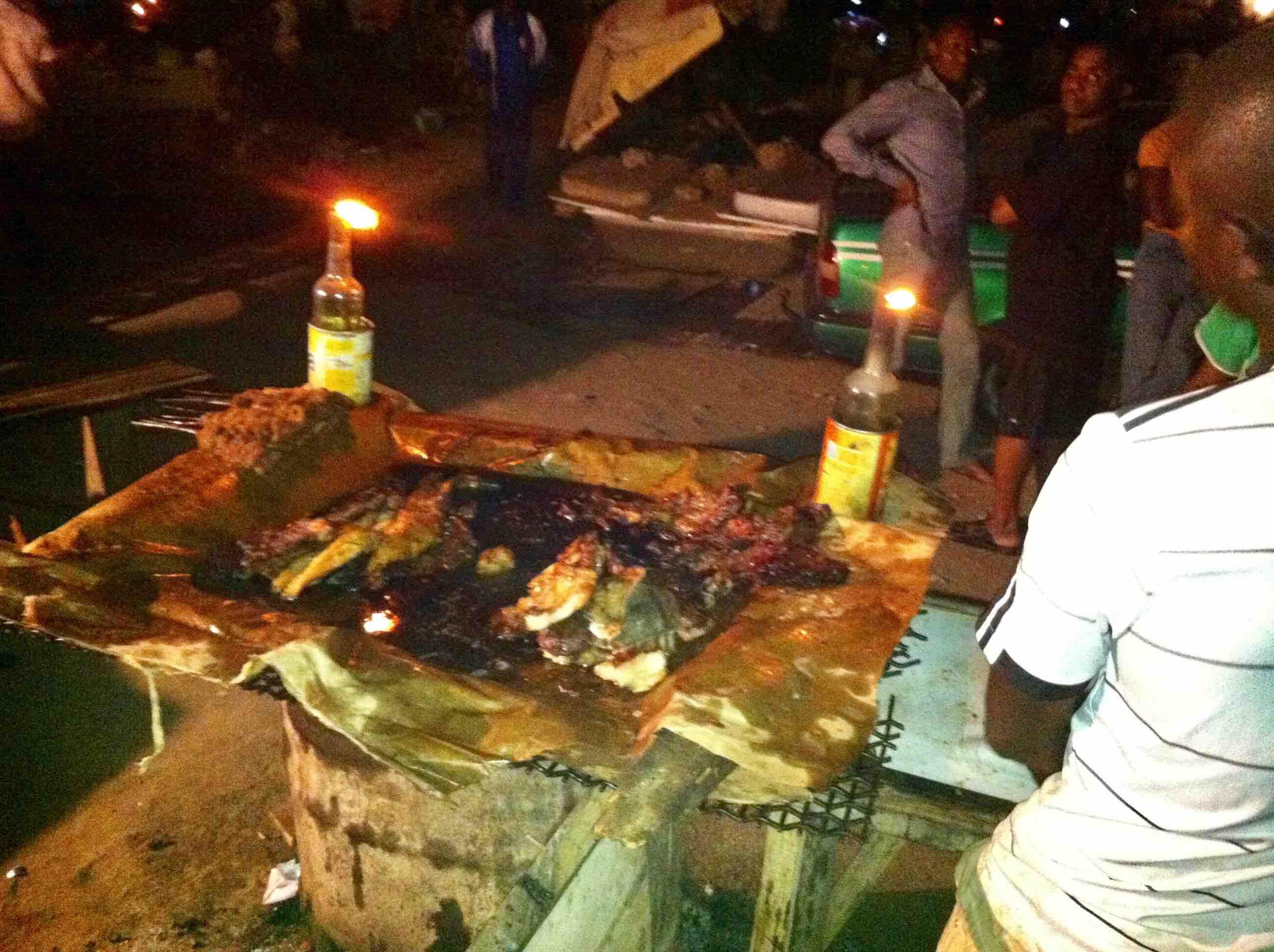 Suya, Gwarinpa Night Market, 152 Road, Gwarinpa, FCT, Abuja, Nigeria. #JujuFilms