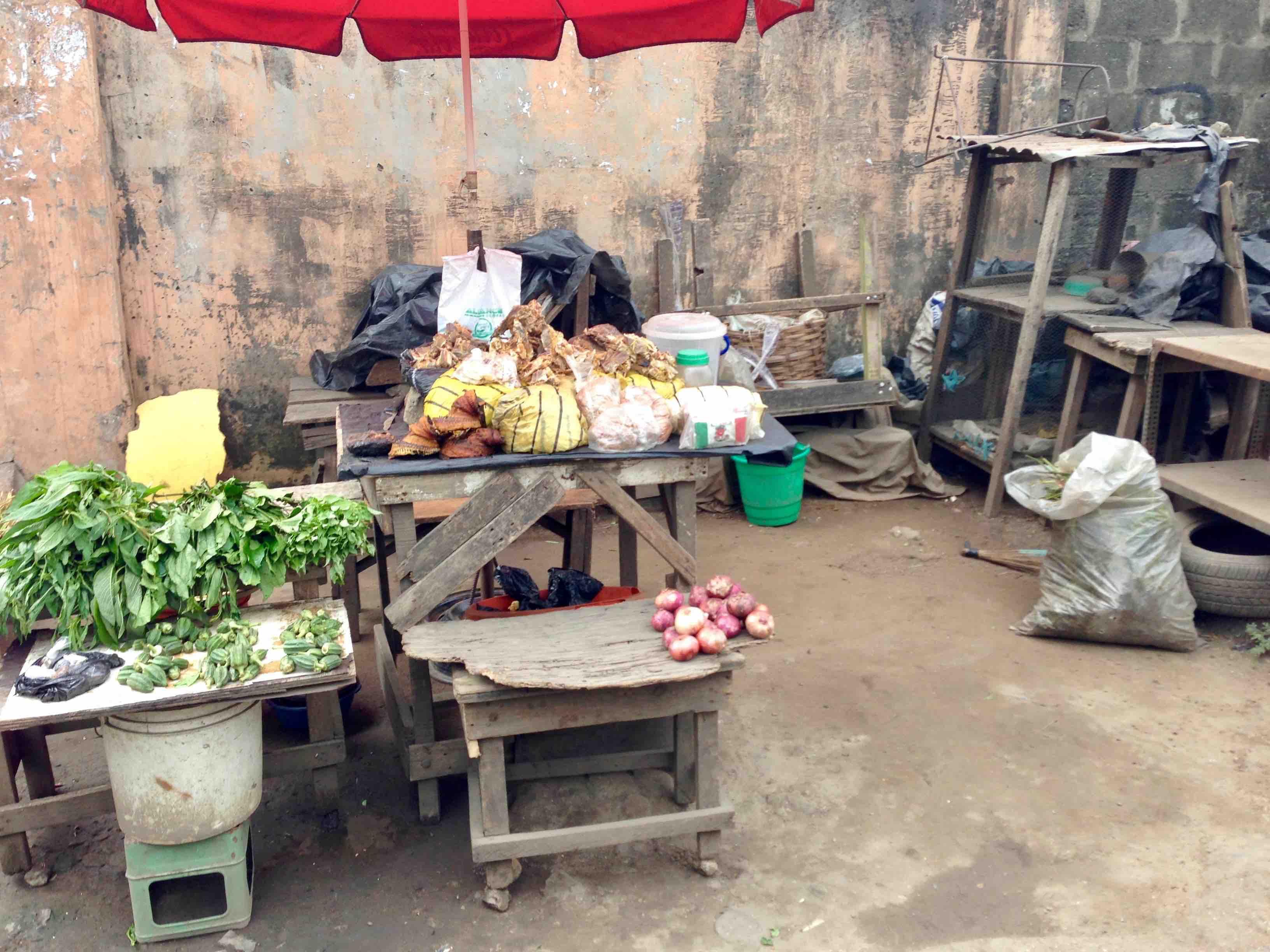 Street Market, Adebowale Avenue, Maryland, Lagos State, Nigeria. #JujuFilms