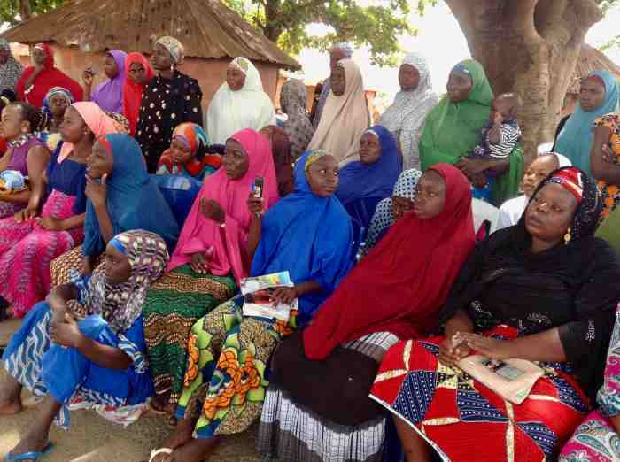 Women of The Mairo Women Foundation, Ushafa Village, FCT, Abuja, Nigeria. #JujuFilms