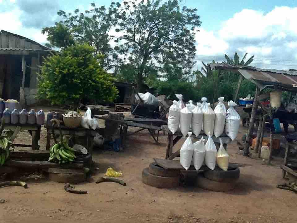 Roadside Market, Akure – Owo – Ifon – Benin Road, Ondo State, Nigeria. #JujuFilms