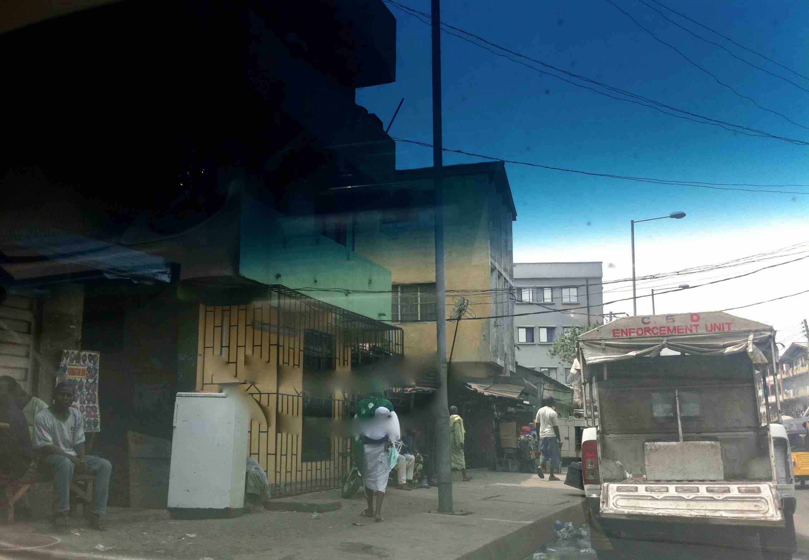Bamgbose Street, Lagos Island, Nigeria. #JujuFilms