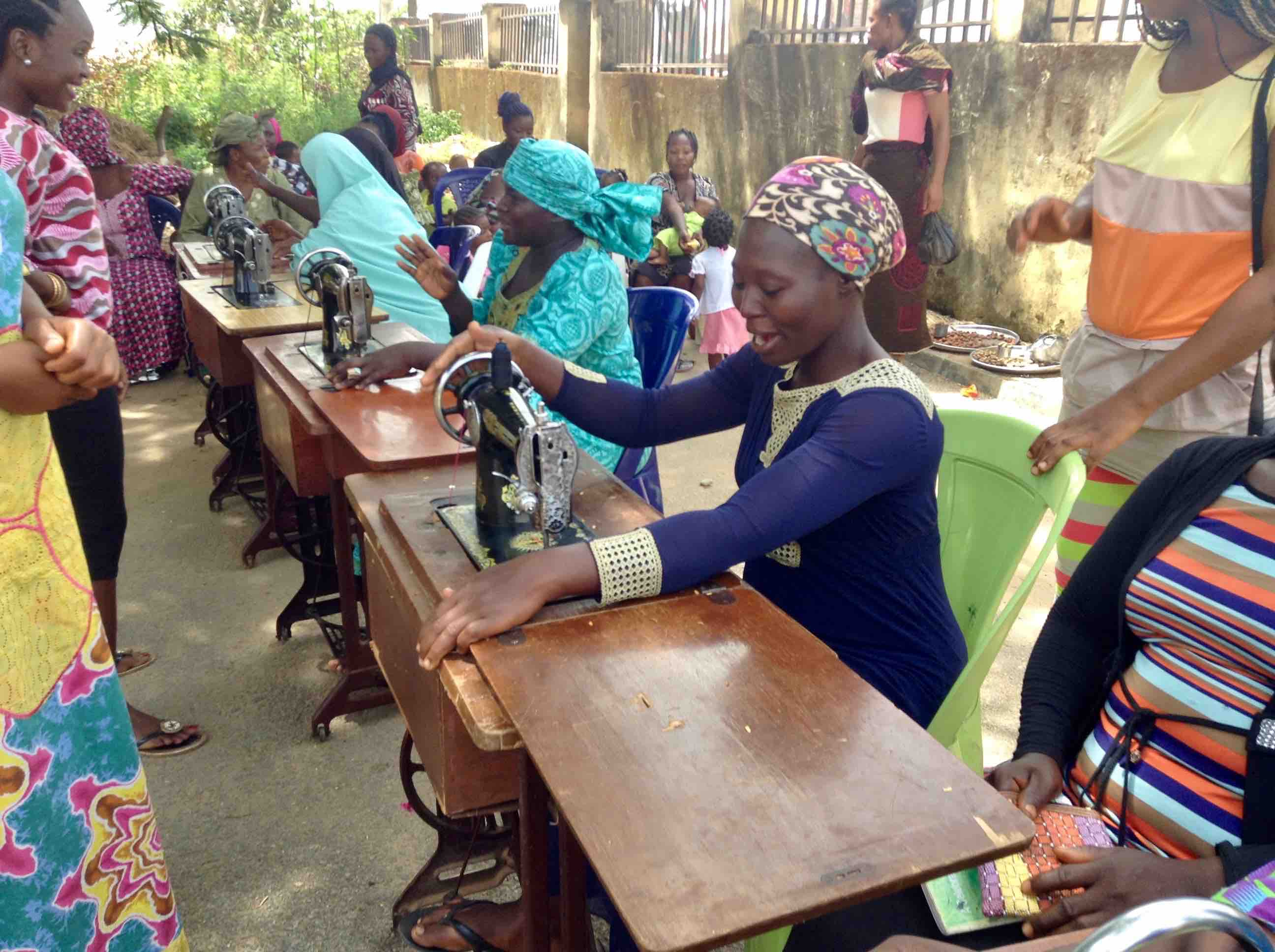Sewing Trade School, Mairo Women Foundation, Ushafa Village, FCT, Abuja, Nigeria. #JujuFilms