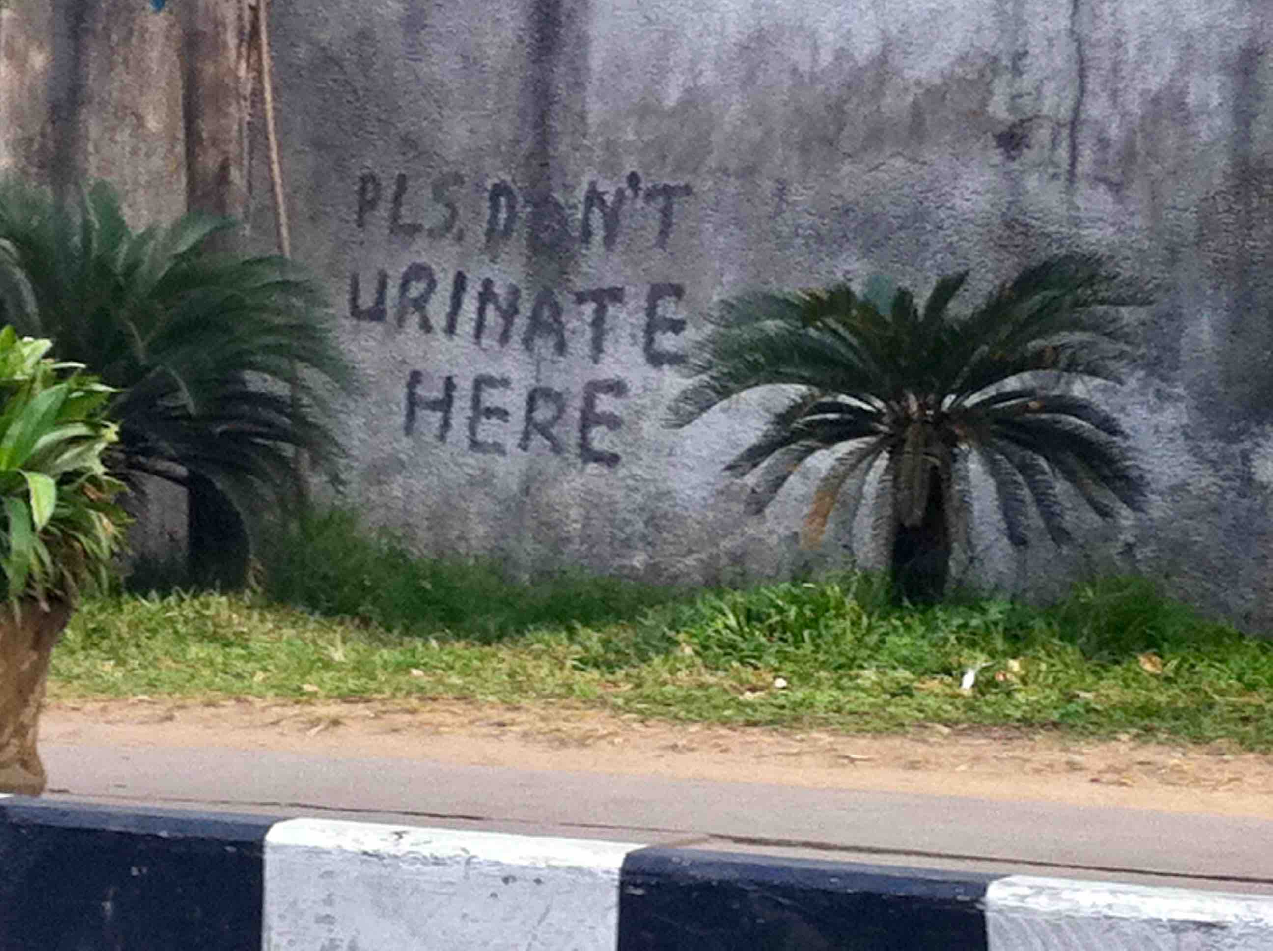 Public Urination, Broad Street, Lagos Island, Nigeria. #JujuFilms