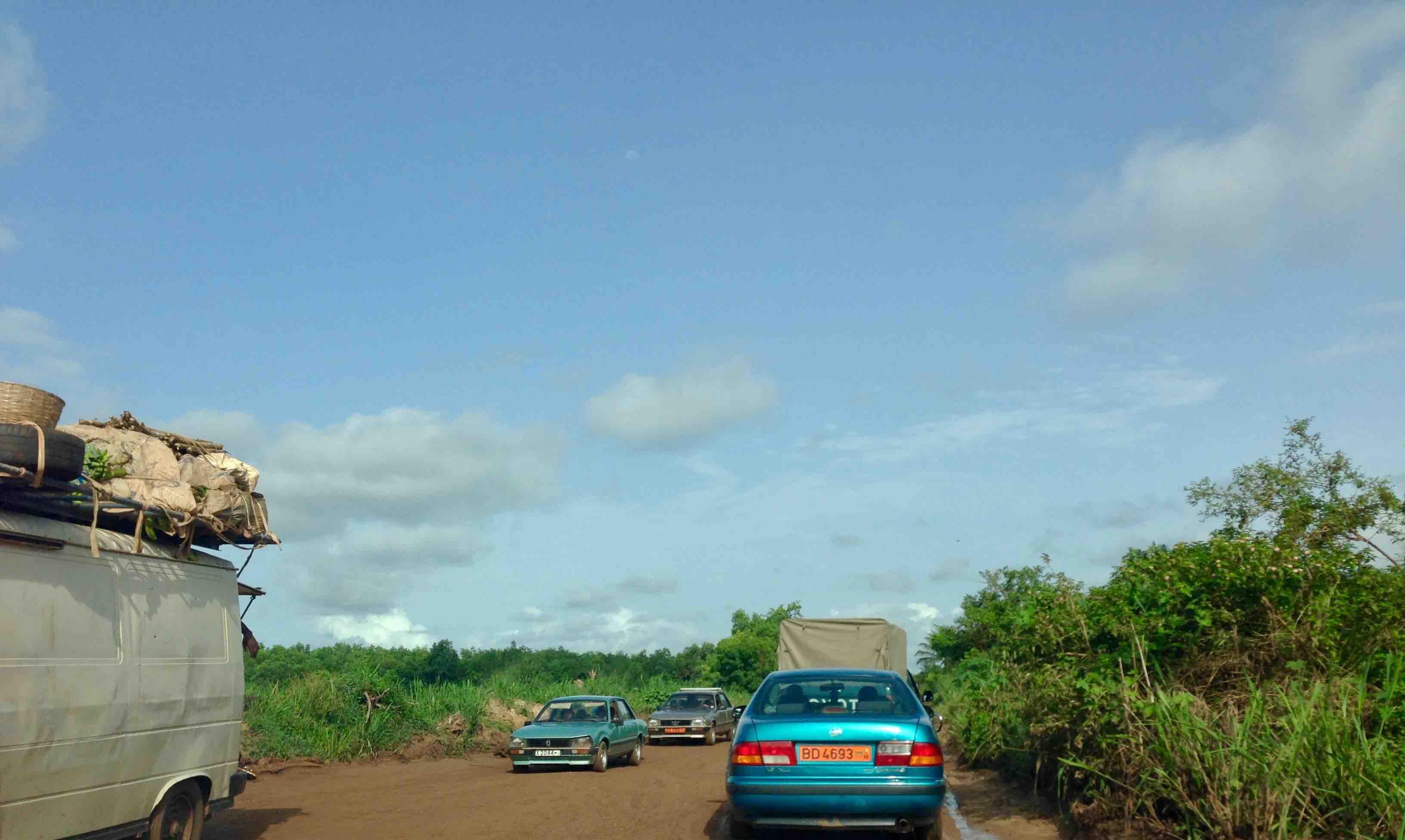 Benin - Togo Road, Pahou, Atlantique, Benin. #JujuFilms