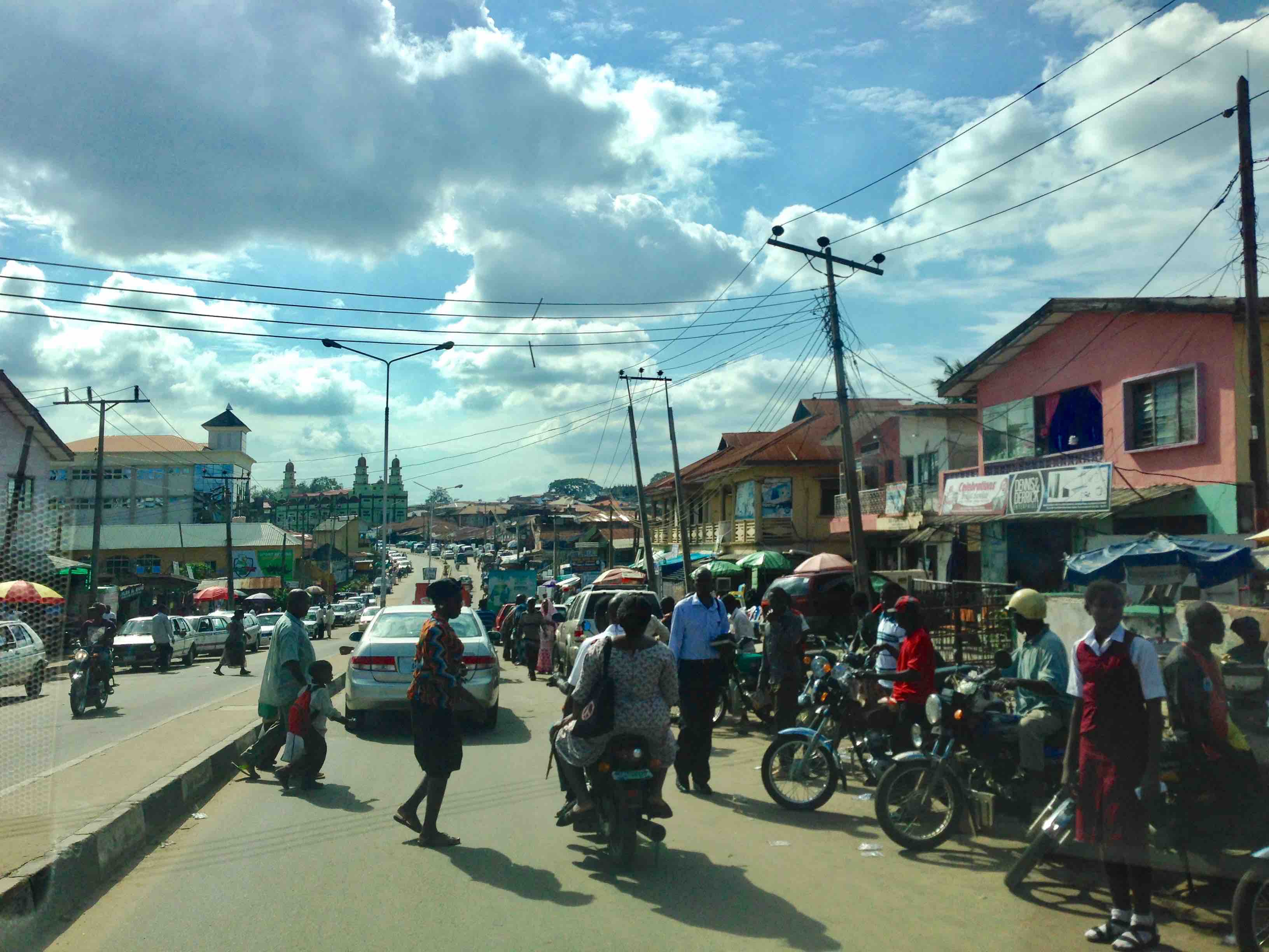 Nyerere Street, Sabo, Mokola, Ibadan, Oyo State, Nigeria. #JujuFilms