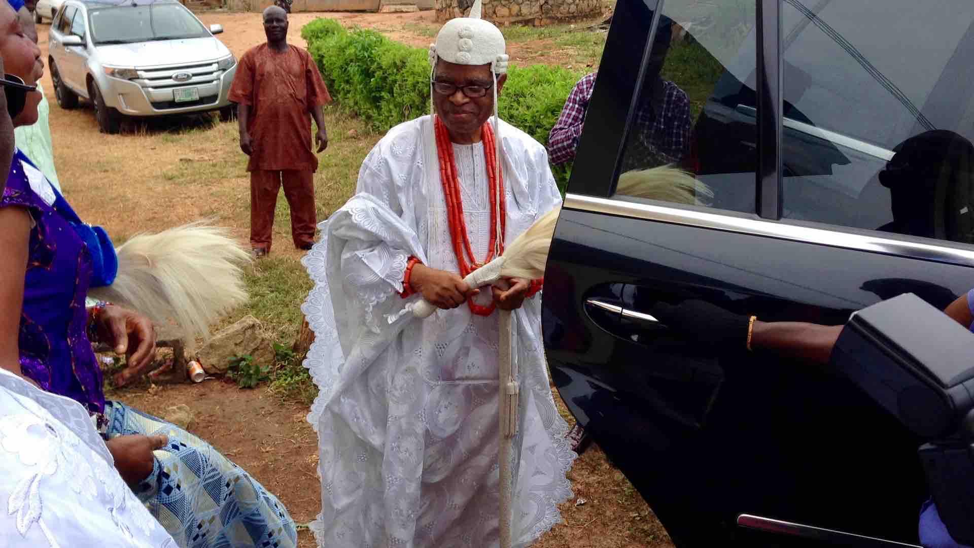 Alani Olufemi Olutoye of Idoani Kingdom, Idoani, Ondo State, Nigeria. #JujuFilms