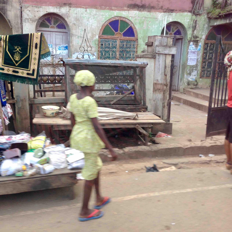 Street scene in Oshogbo, Osun, Nigeria. #JujuFilms