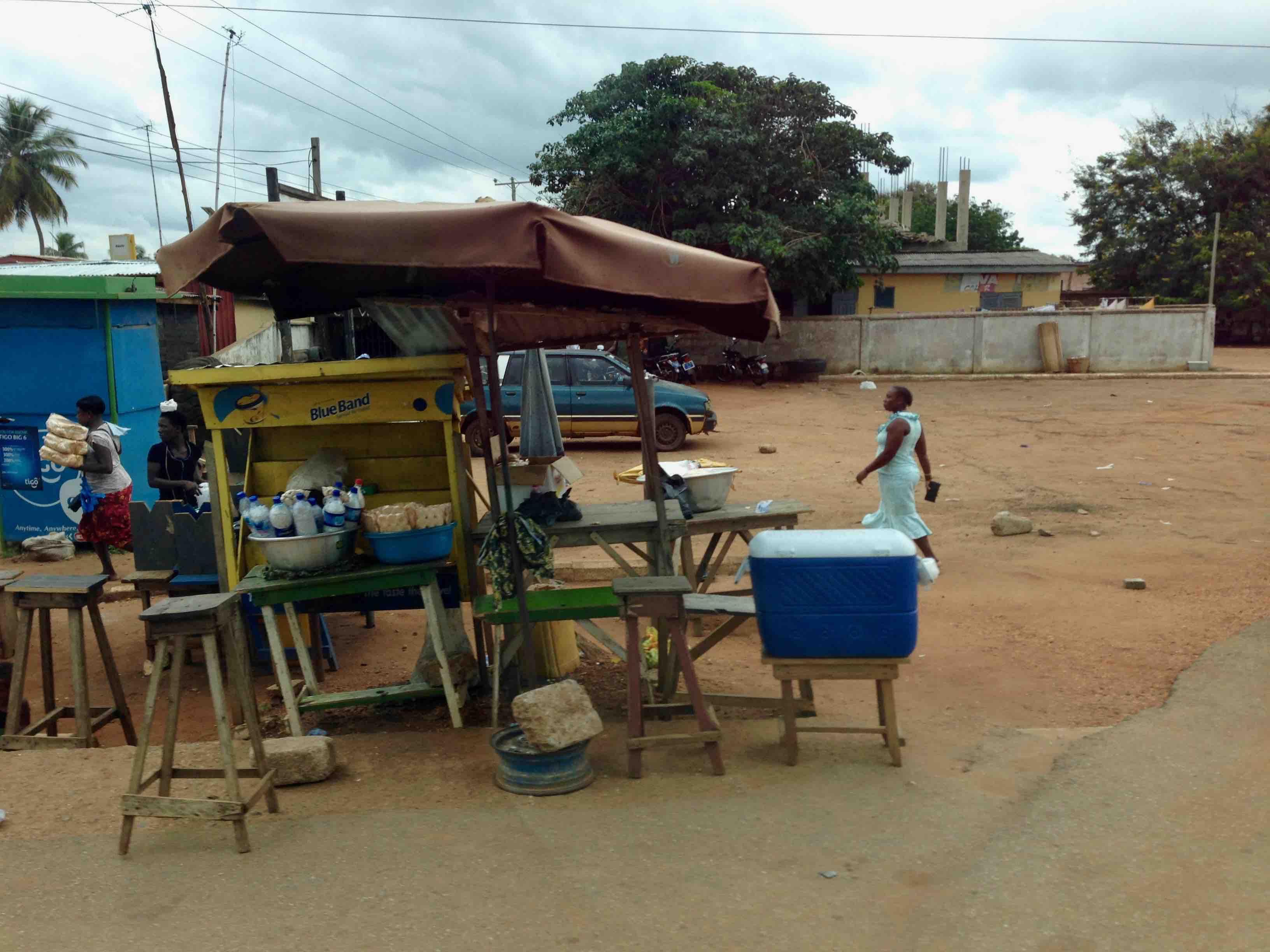 Street Market Scene, Sogakofe, Volta, Ghana. #JujuFilms