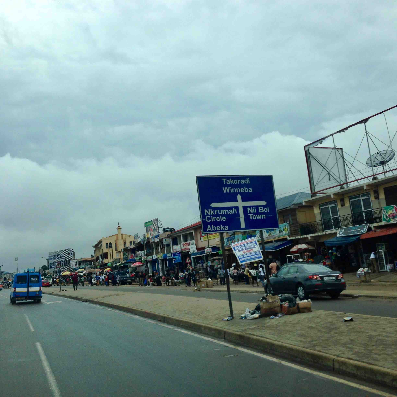 Kwame Nkrumah Motorway, Nima, Accra, Ghana. #JujuFilms