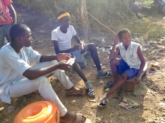 Selling fish from Usuma Dam in Ushafa Village, FCT, Abuja, Nigeria. #JujuFilms