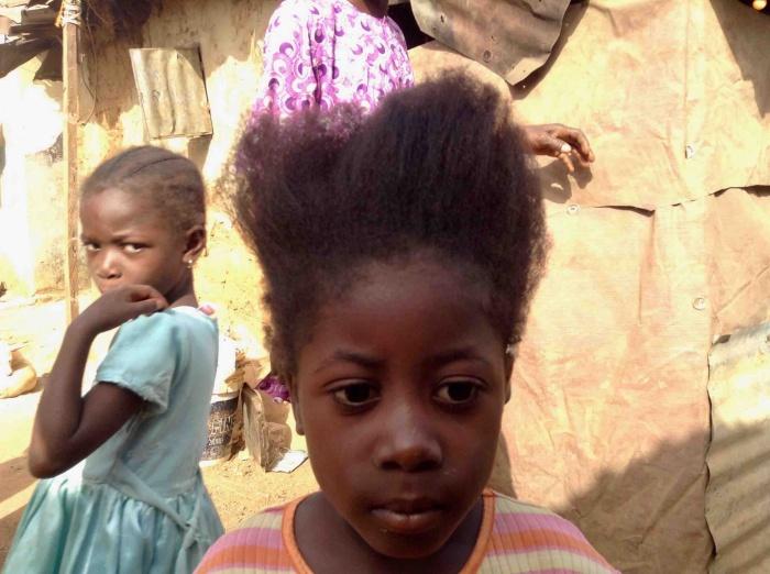 Gbagyi girl in Ushafa Village, FCT, Abuja, Nigeria. #JujuFilms