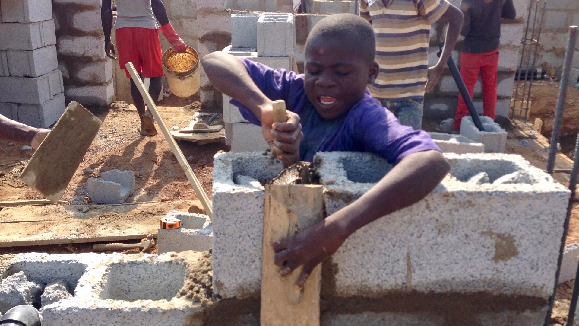 Yusuf 13, apprentice mason and tailor in Ushafa Village, FCT, Abuja, Nigeria. #JujuFilms