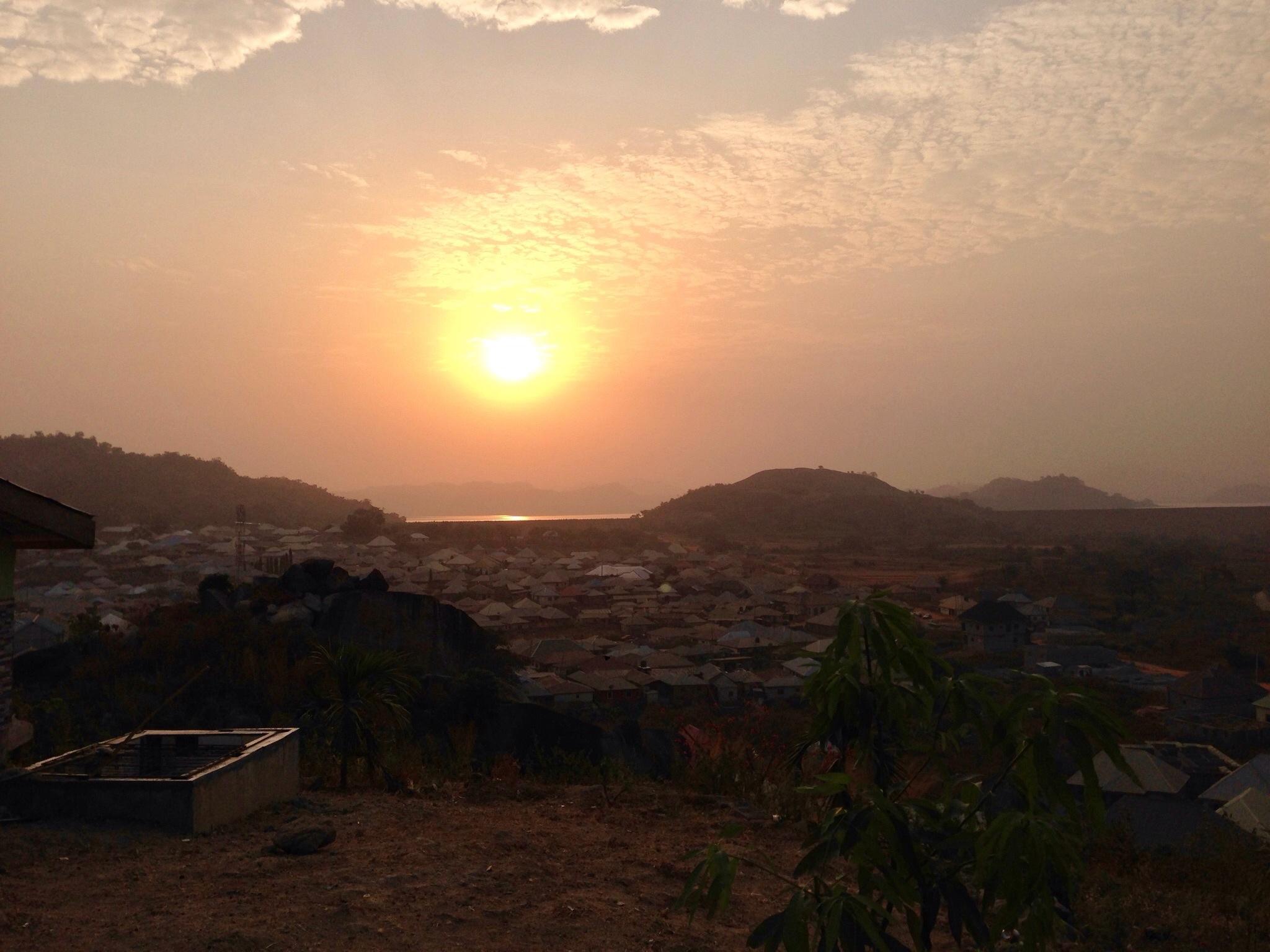 Sunrise on Usuma Dam, Ushafa, FCT, Abuja, Nigeria. #JujuFilms