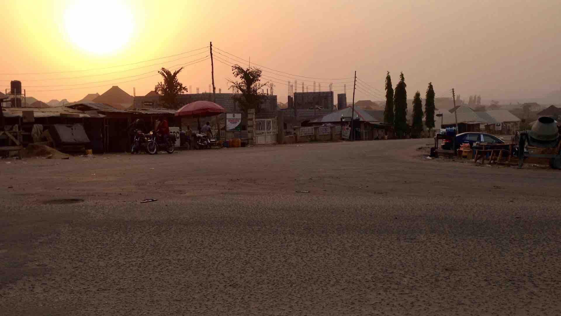Sunrise over Ushafa Village, FCT, Abuja, Nigeria. #JujuFilms