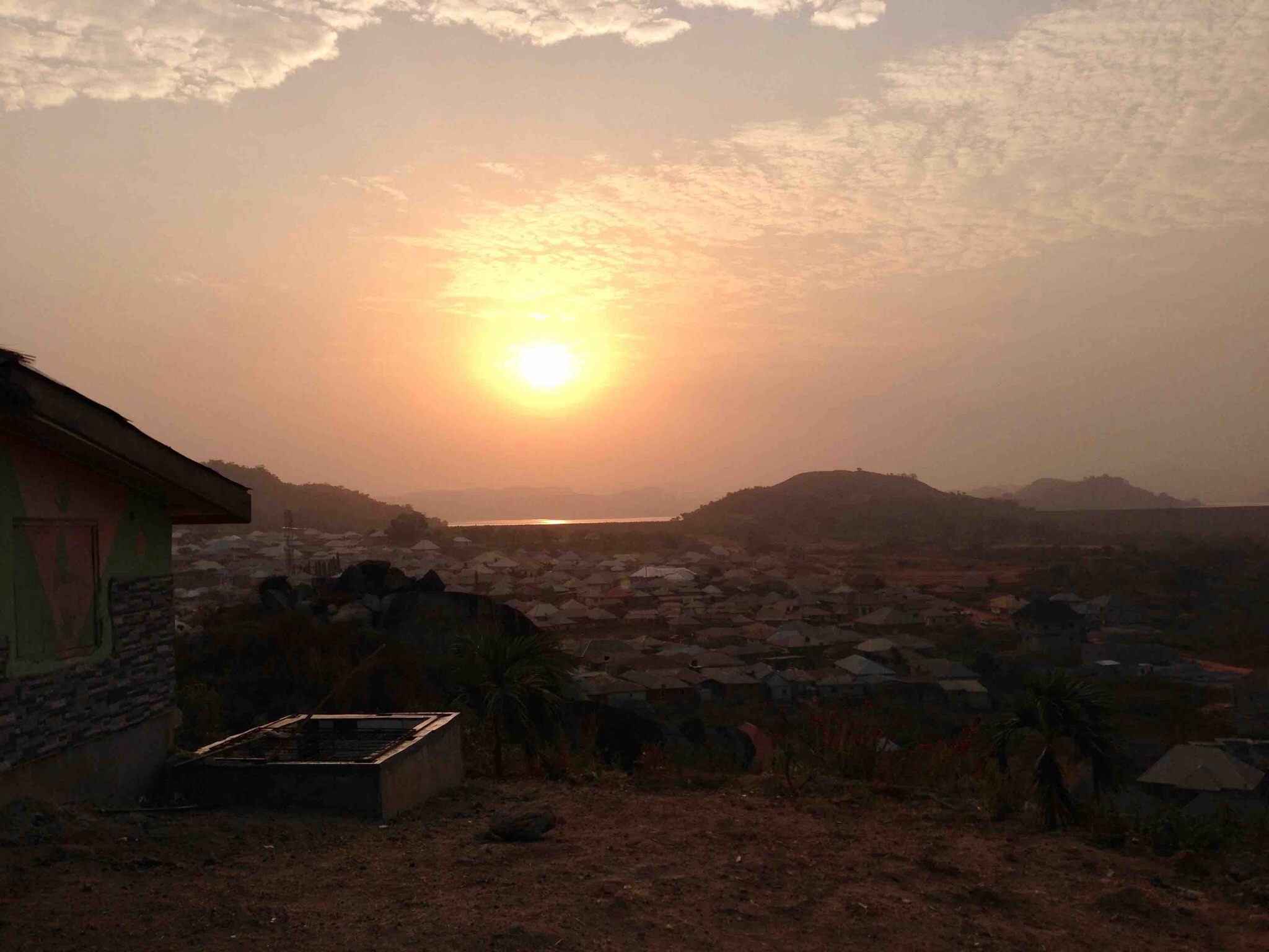 Sunrise over Usuma Dam, Ushafa Village, FCT, Abuja, Nigeria. #JujuFilms