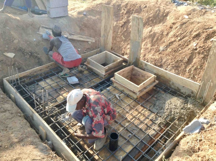 Building a septic and suck away system in Nigeria. #JujuFilms