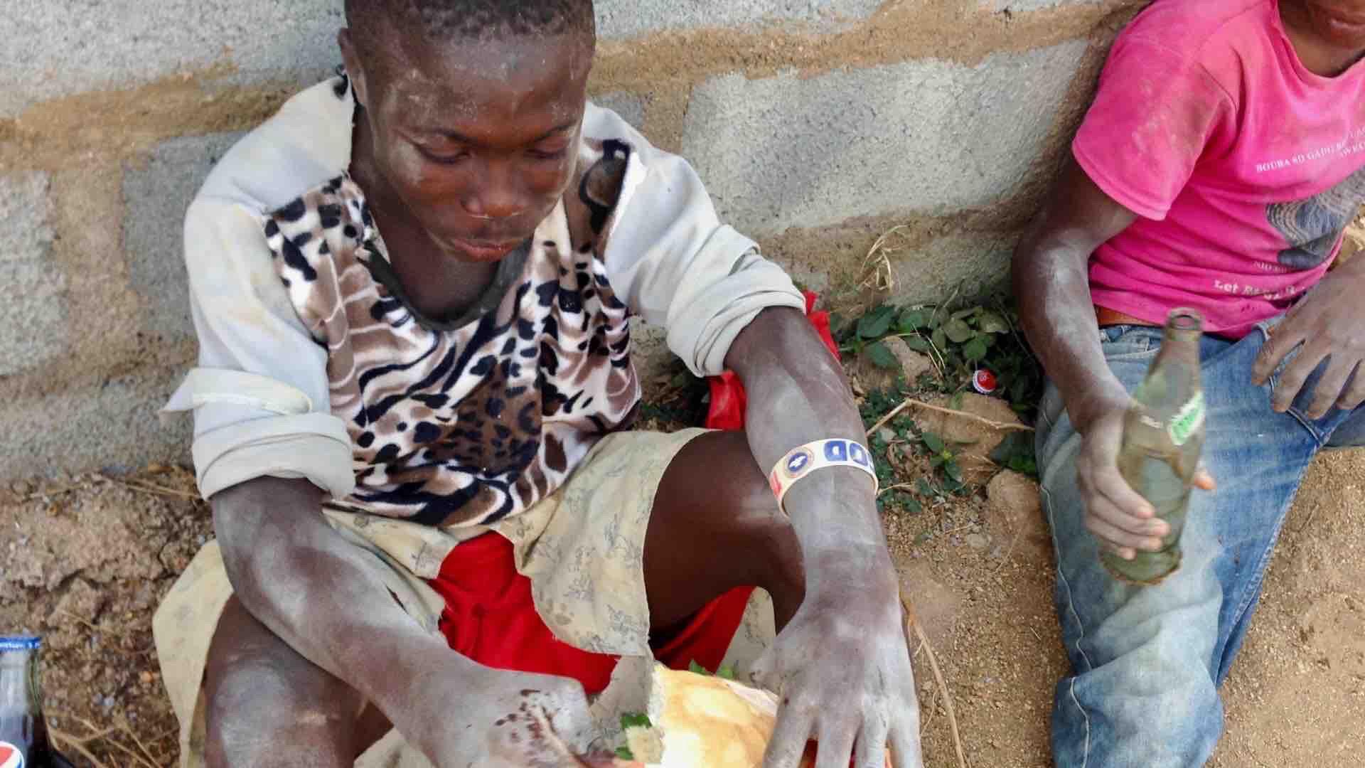 Kehinde 16, day laborer in Ushafa Nigeria. #JujuFilms