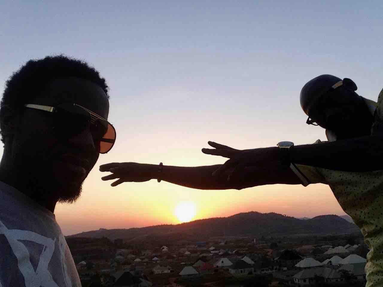 Sunset over Ushafa Village, FCT, Abuja, Nigeria. #JujuFilms