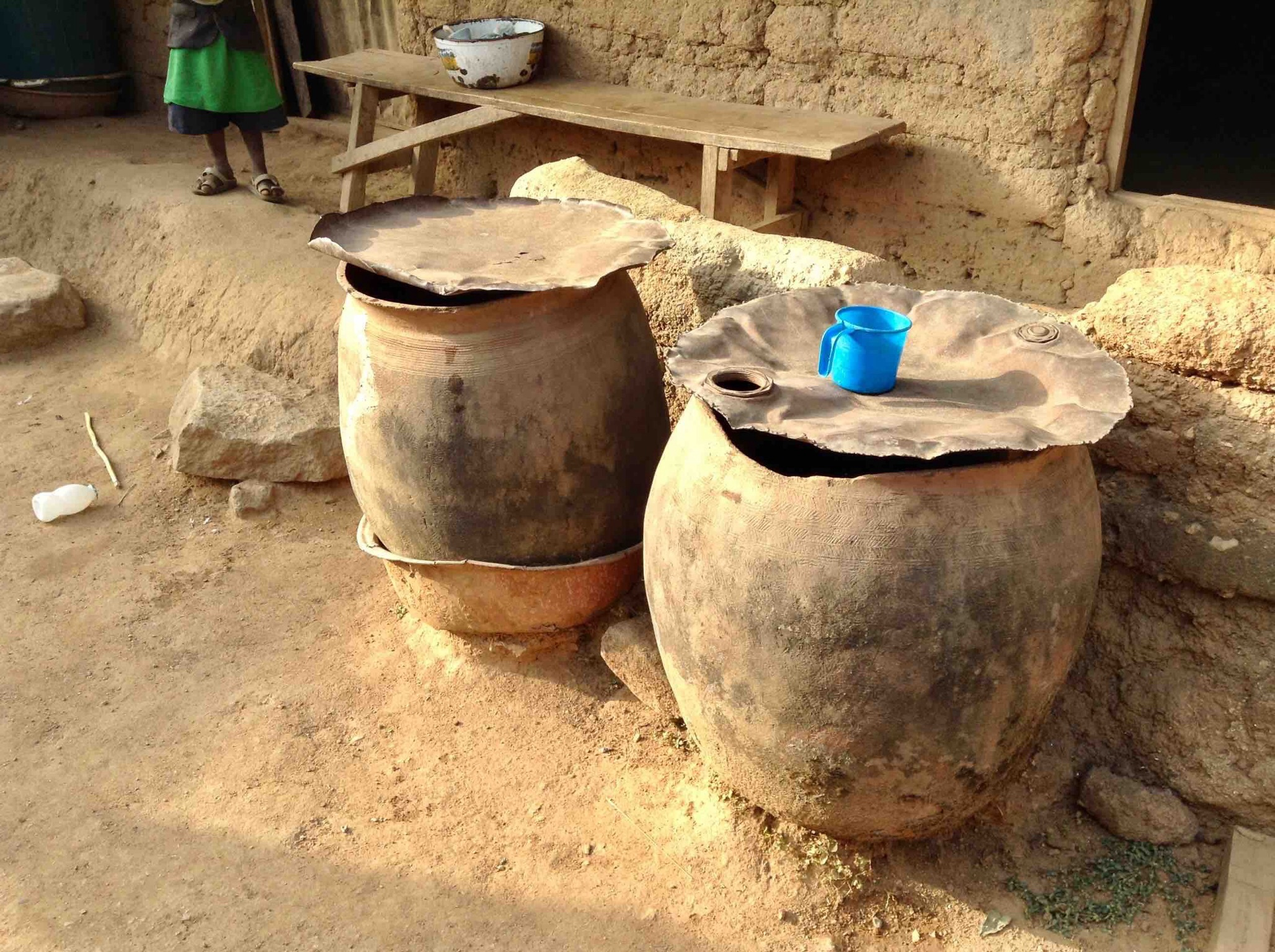 Water drums in Langa Langa Village, Nasarawa State, Nigeria. #JujuFilms