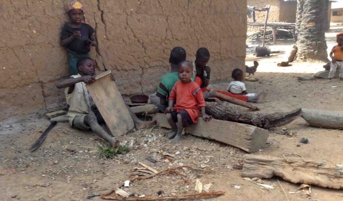 Langa Langa Village children in Langa Langa Village, Nasarawa State, Nigeria. #JujuFilms