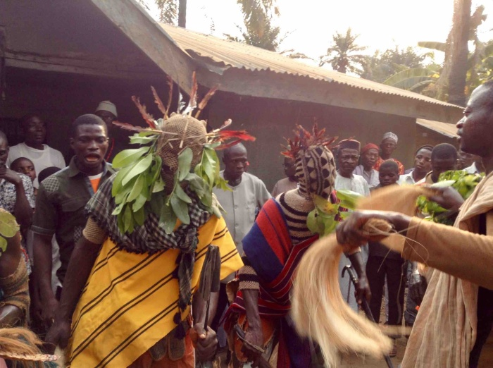 Eggon Masquerade (Ibreeggon) comes out only for funeral ceremonies. This funeral ceremony was for the Legend Atumbi, held on Friday January 13, 2017 in Asungu Village, Nasarawa State, Nigeria. #JujuFilms