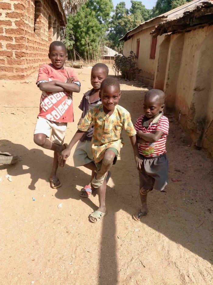 Eggon Children, Langa Langa Village, Nasarawa State, Nigeria. #JujuFilms